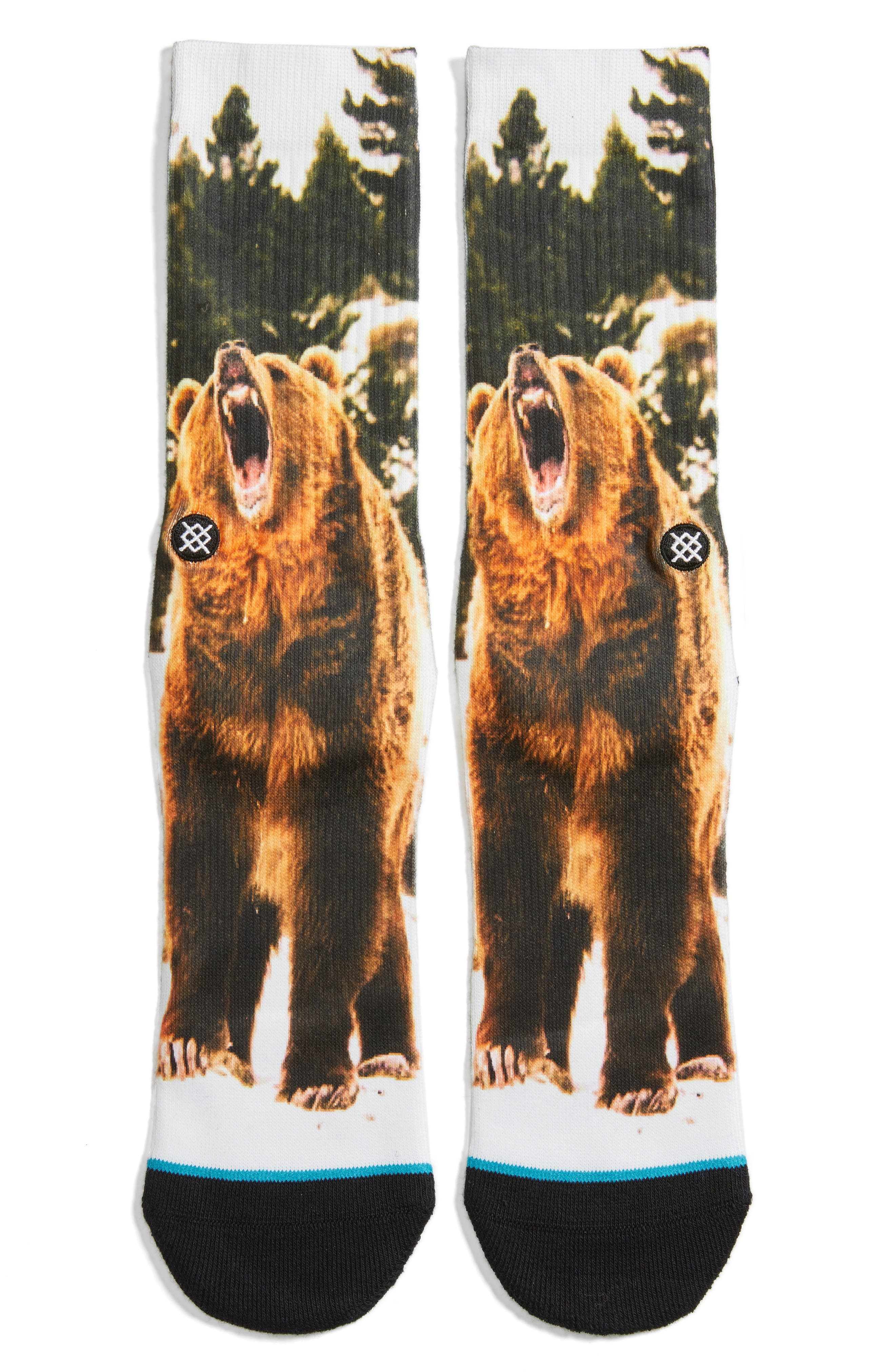 Alternate Image 1 Selected - Stance Leos Crew Socks