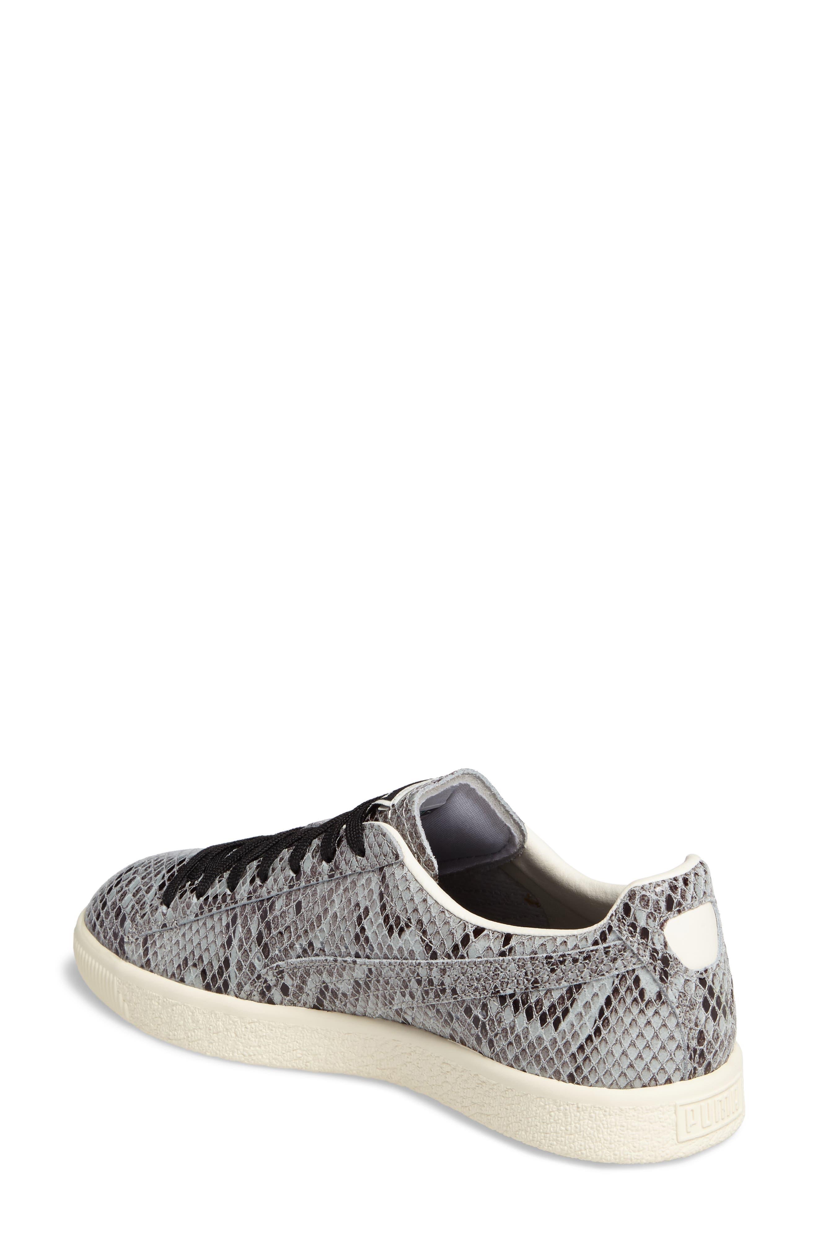 Clyde Sneaker,                             Alternate thumbnail 2, color,                             Puma Silver