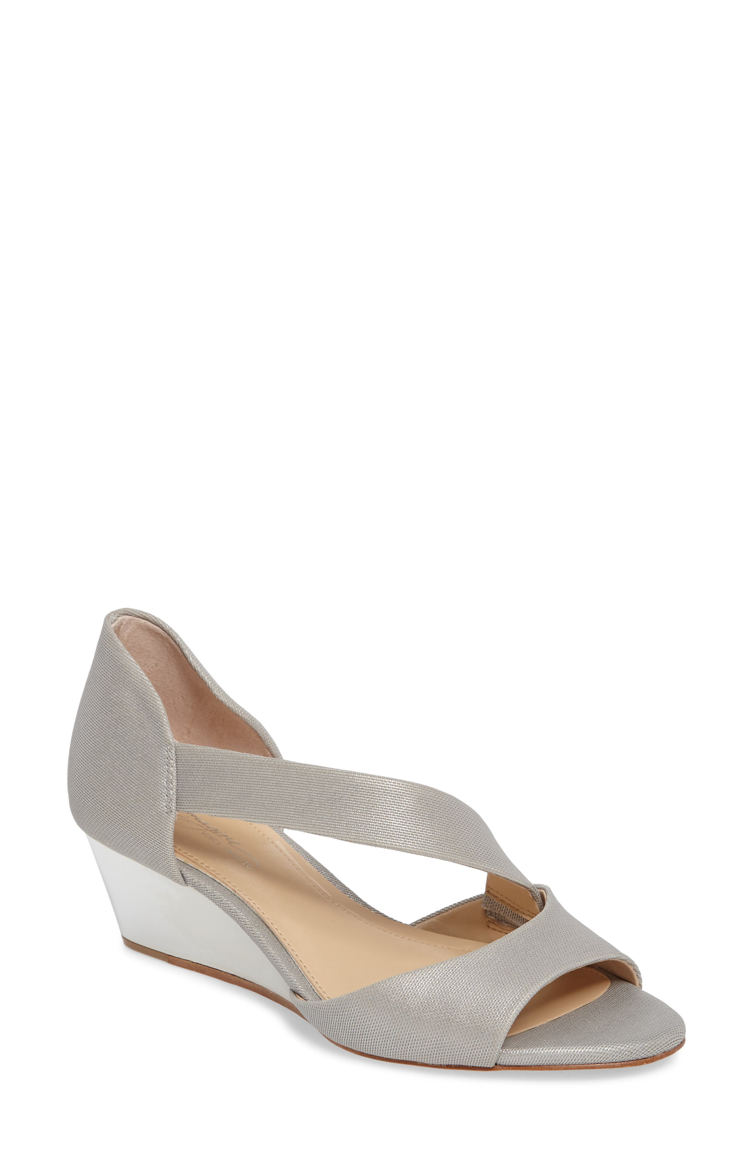 Alternate Image 1 Selected - Imagine by Vince Camuto Jefre Wedgee Sandal (Women)