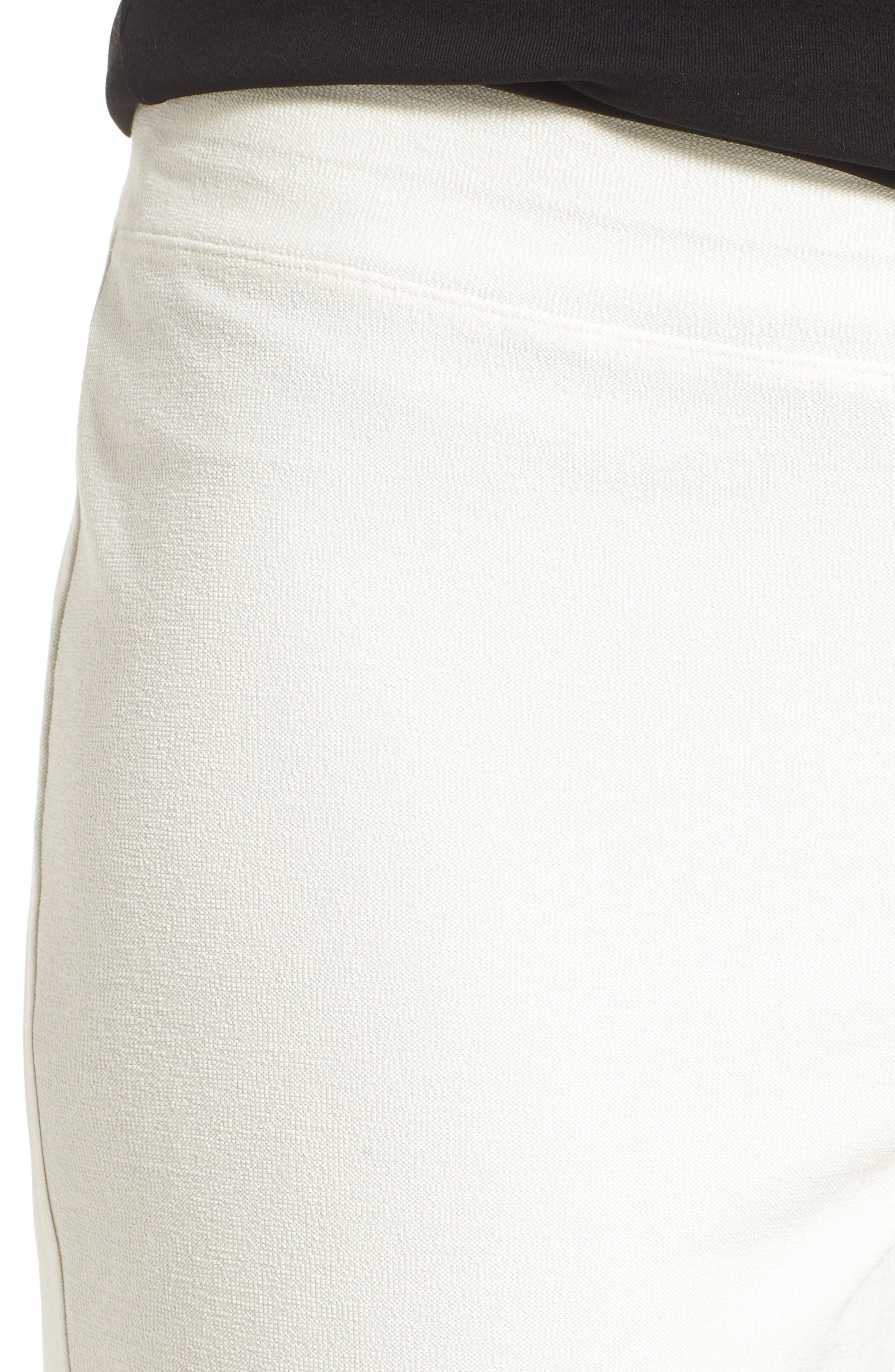 Alternate Image 6  - Eileen Fisher Stretch Crepe Slim Ankle Pants (Regular & Petite)