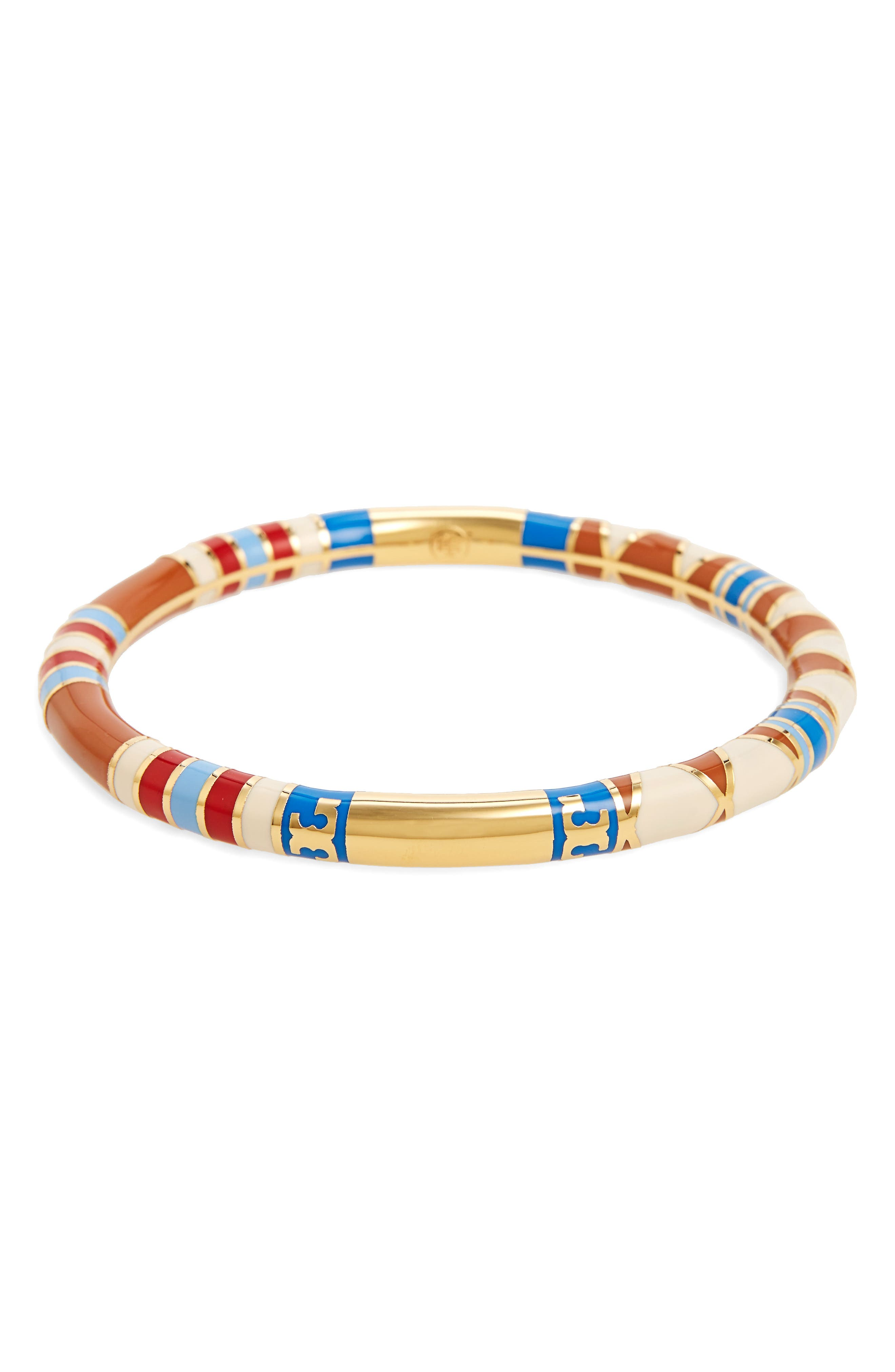 Alternate Image 1 Selected - Tory Burch Logo Bangle