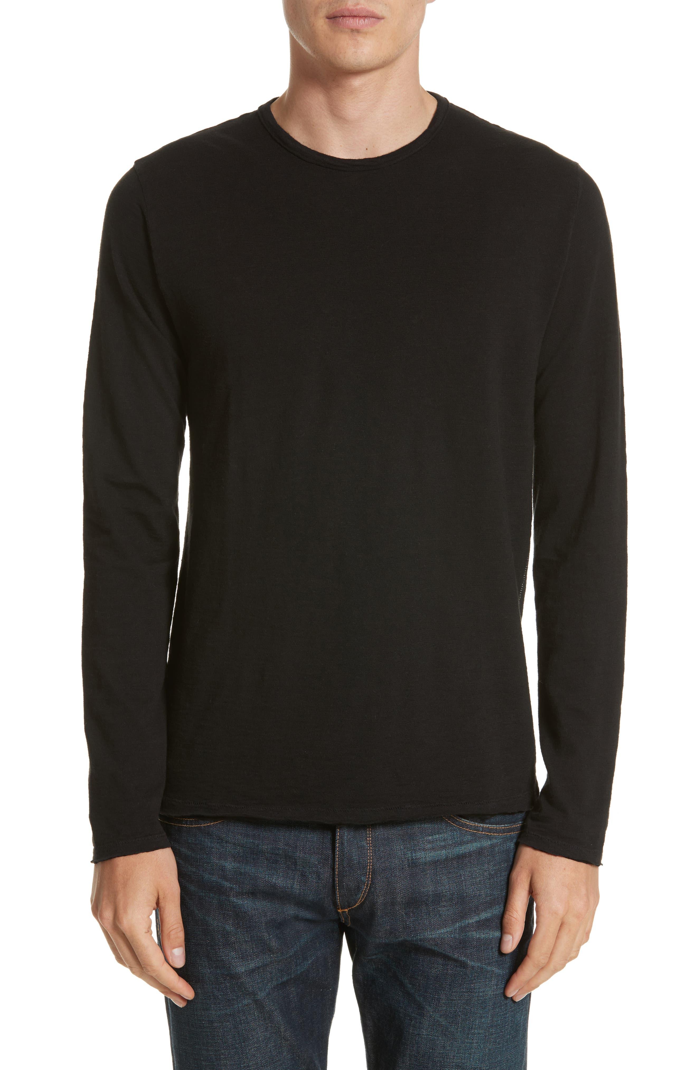 Owen T-Shirt,                         Main,                         color, Black