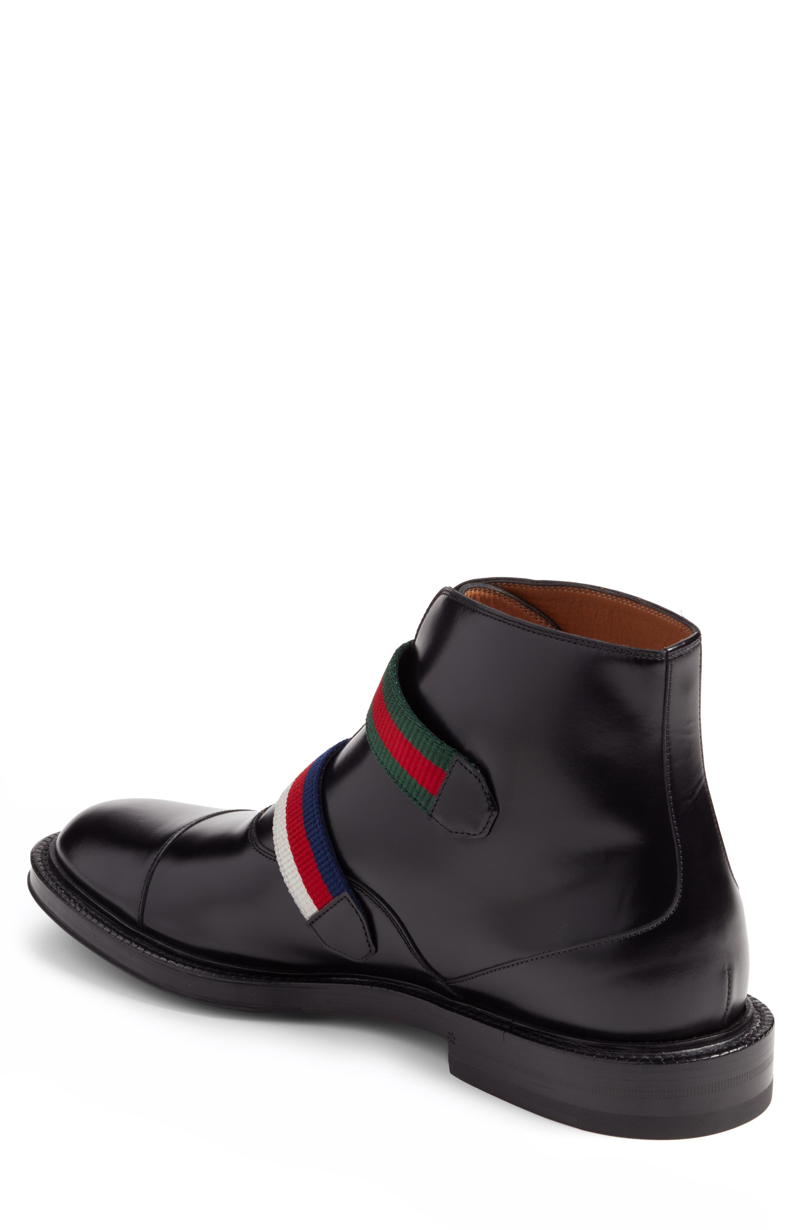 Alternate Image 2  - Gucci Beyond Belted Boot (Men)