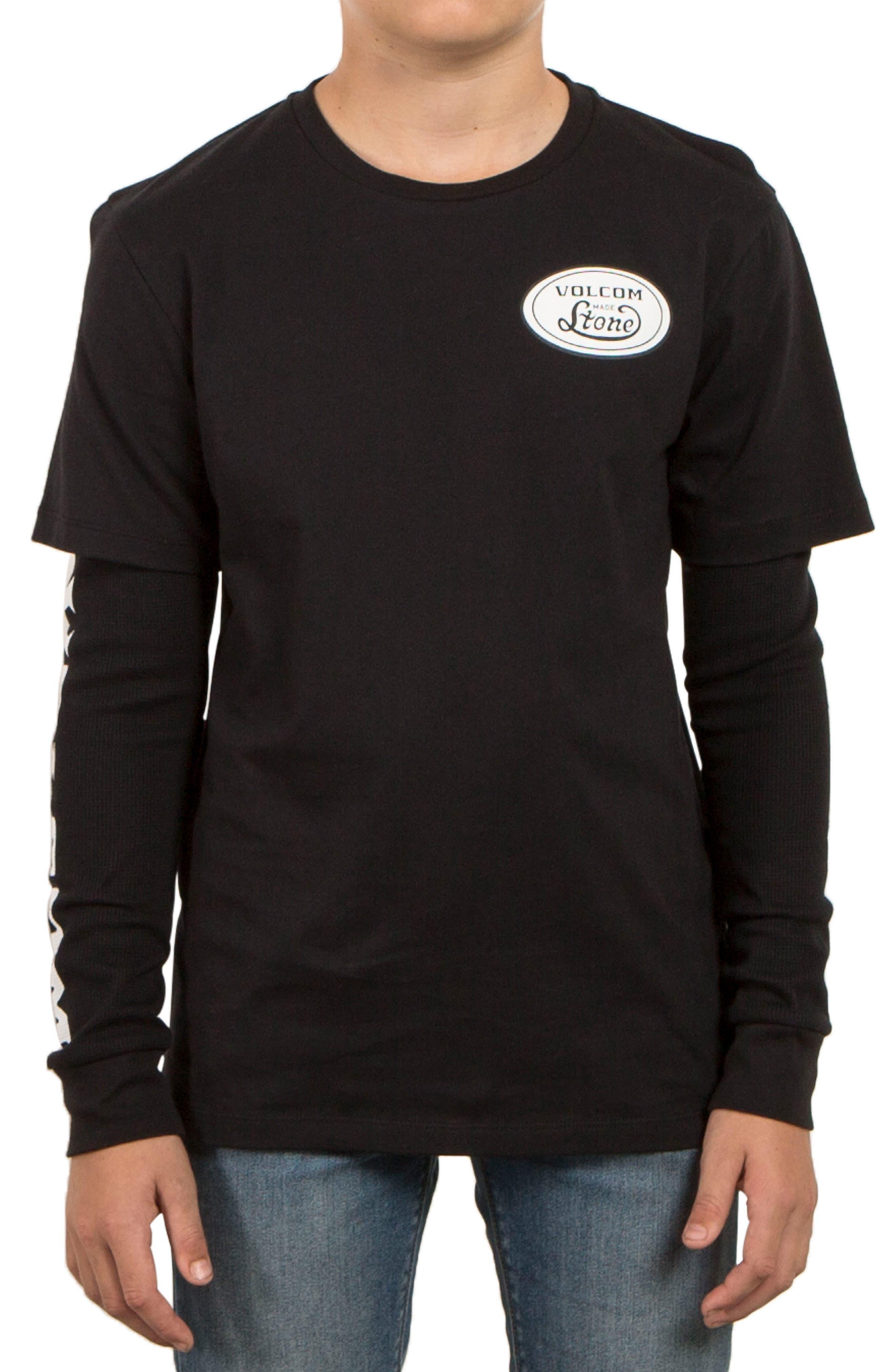 Volcom Easton Long Sleeve T-Shirt (Big Boys)