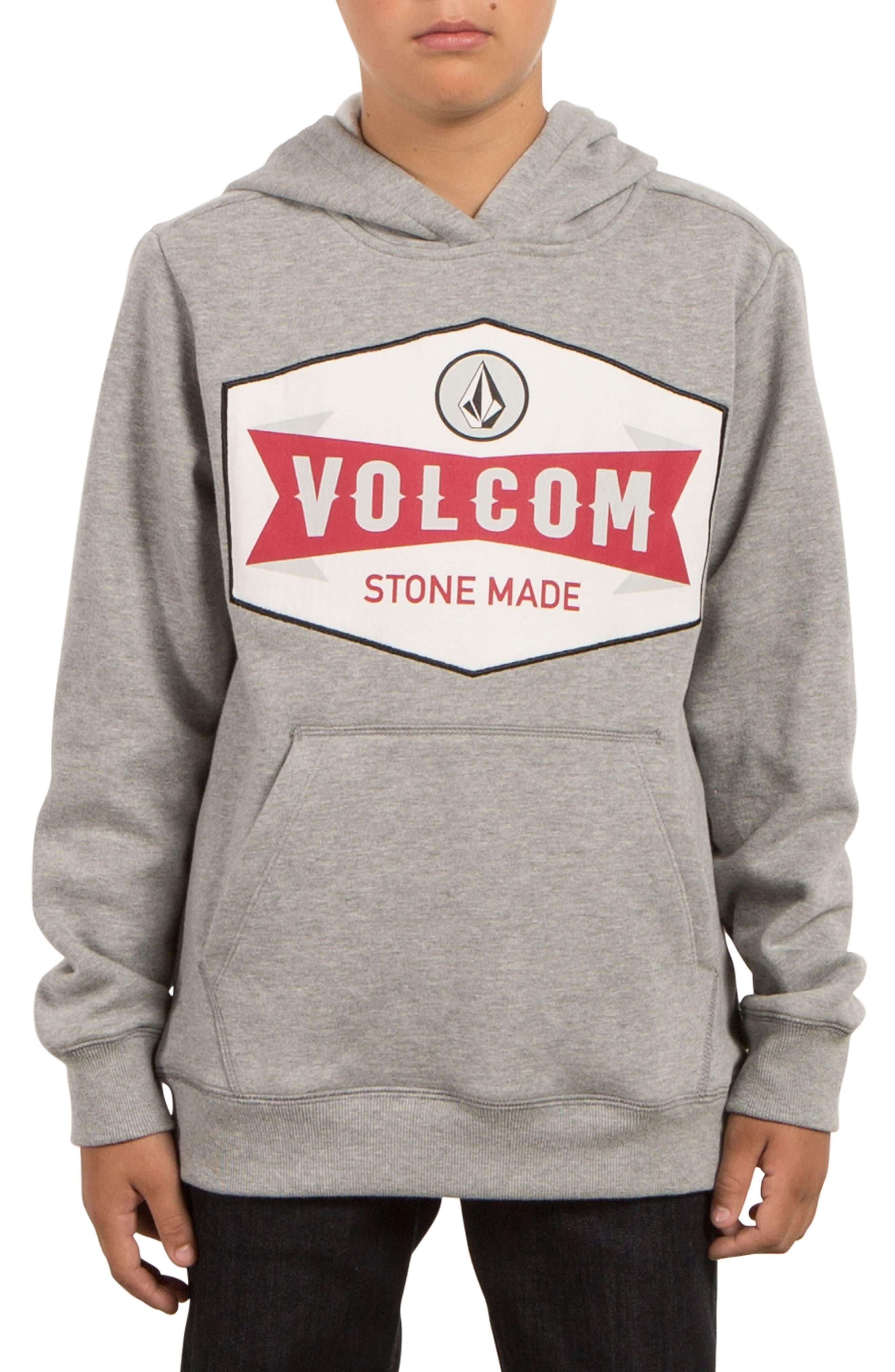Volcom Patch Stone Hoodie (Big Boys)