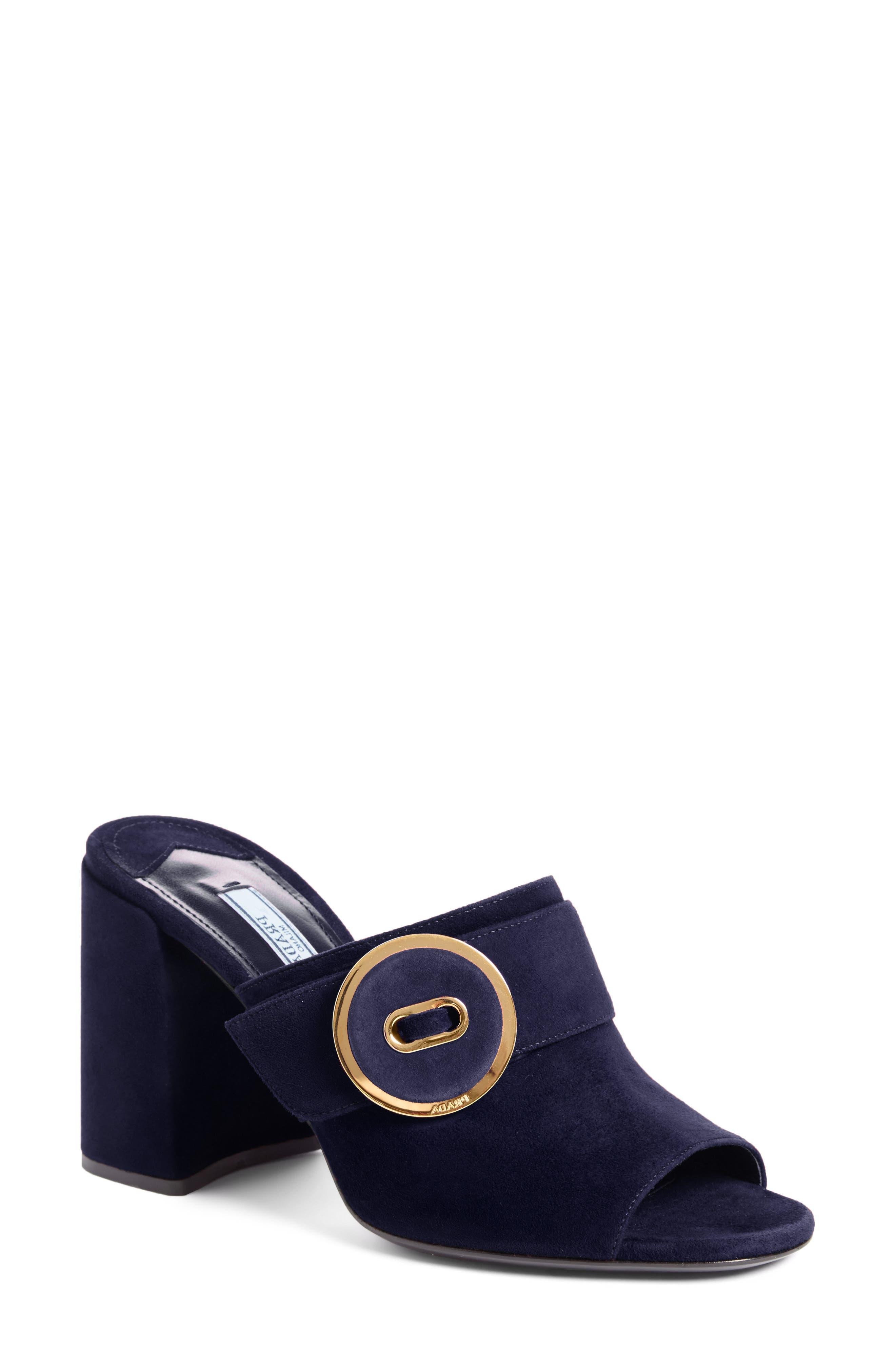 Button Mule,                         Main,                         color, Dark Blue