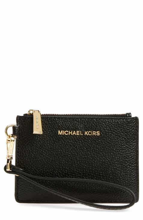878581e679b30a MICHAEL Michael Kors Small Mercer Leather RFID Coin Purse