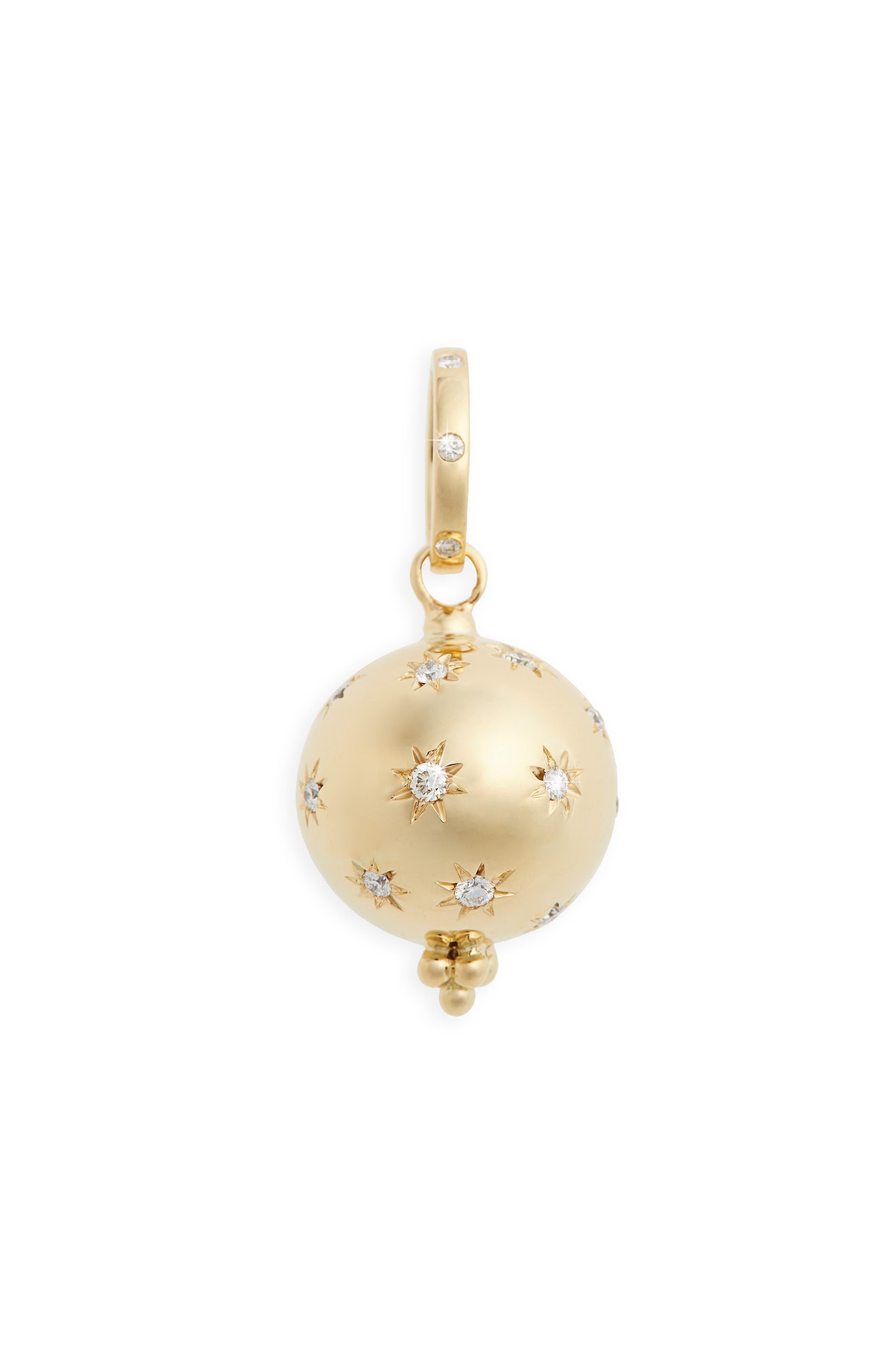 Cosmos Diamond Pendant,                         Main,                         color, Yellow Gold