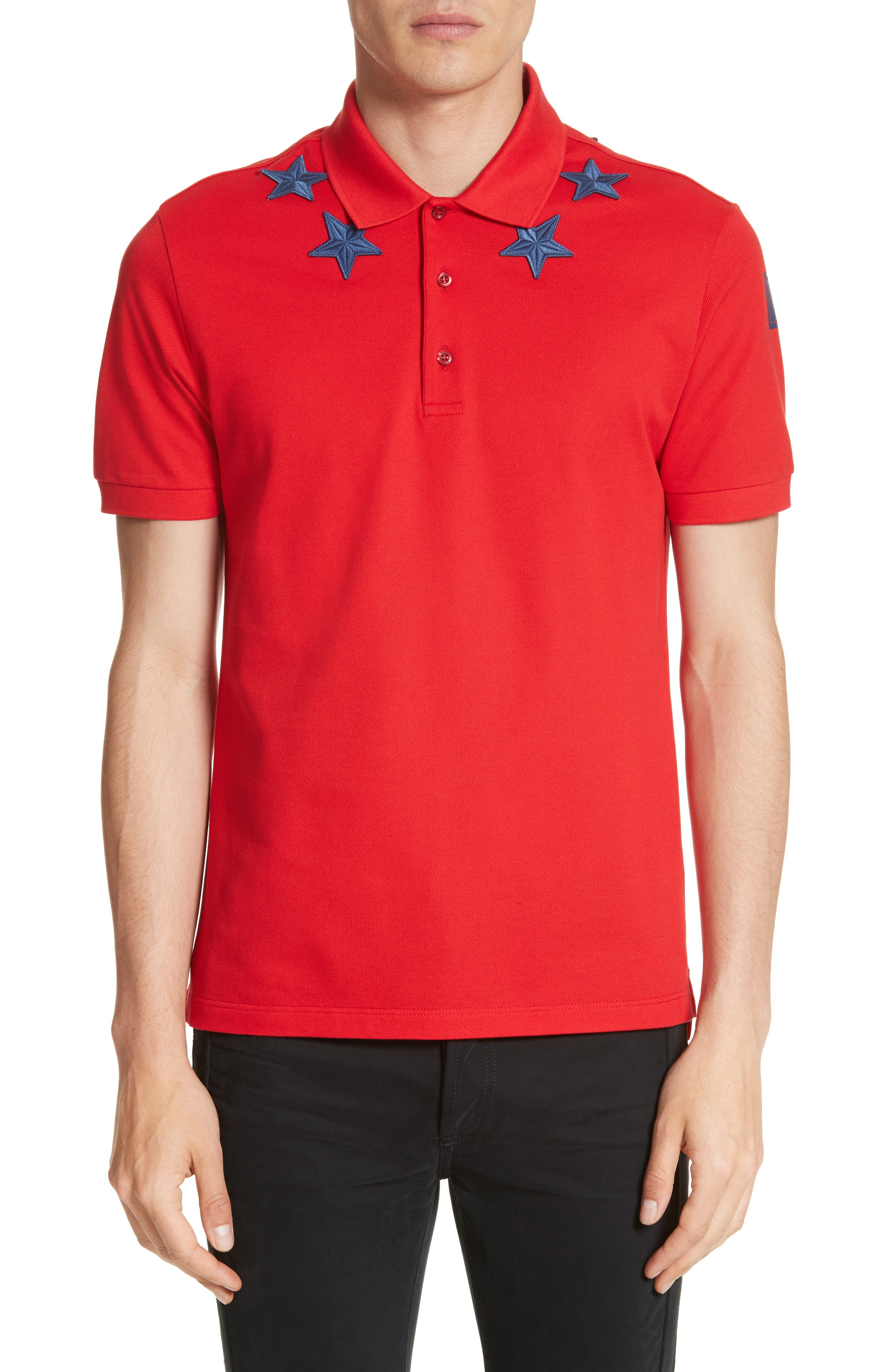 Star 74 Polo,                         Main,                         color, Red
