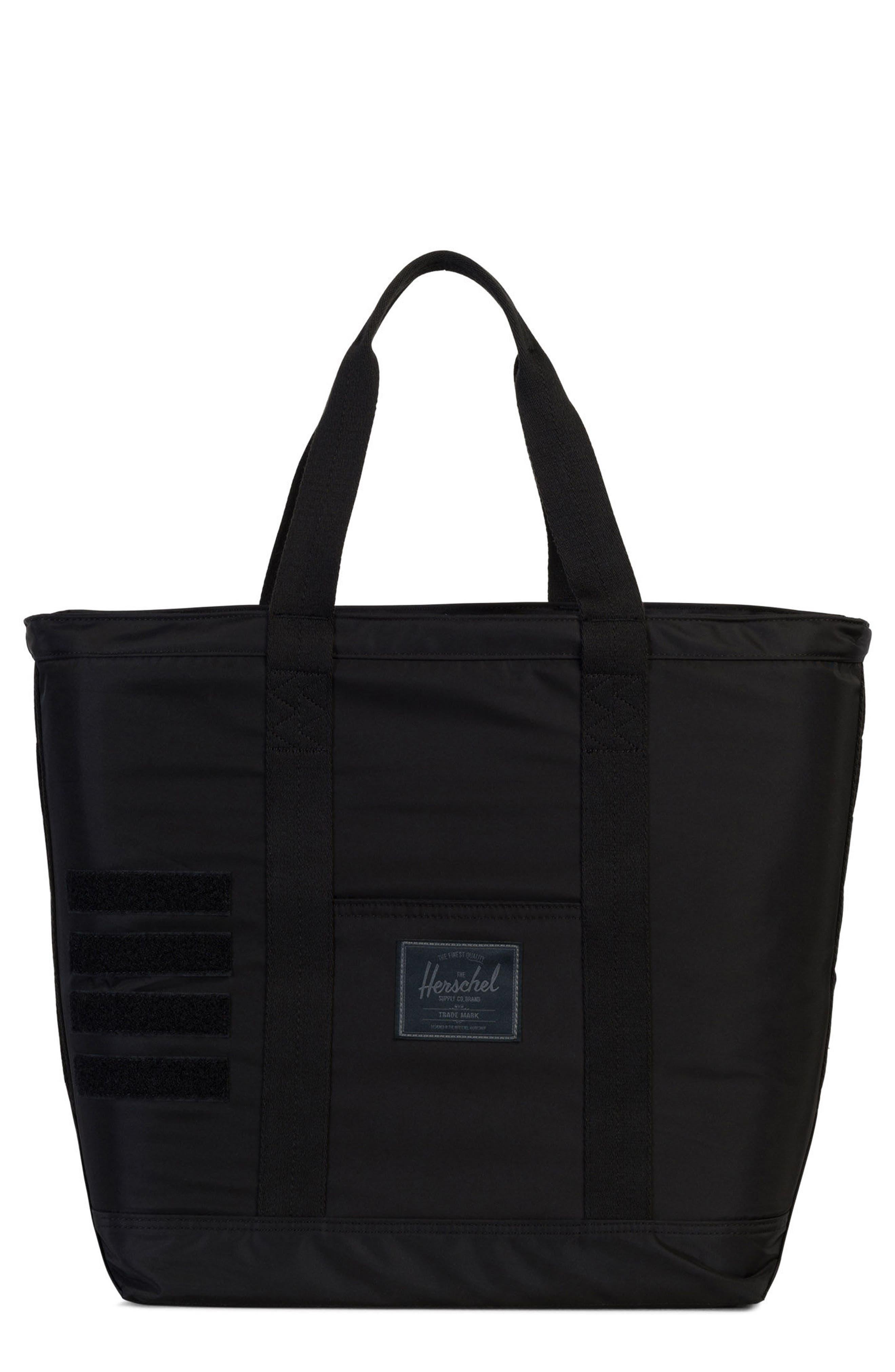 Bamfield Surplus Collection Tote Bag,                             Main thumbnail 1, color,                             Black
