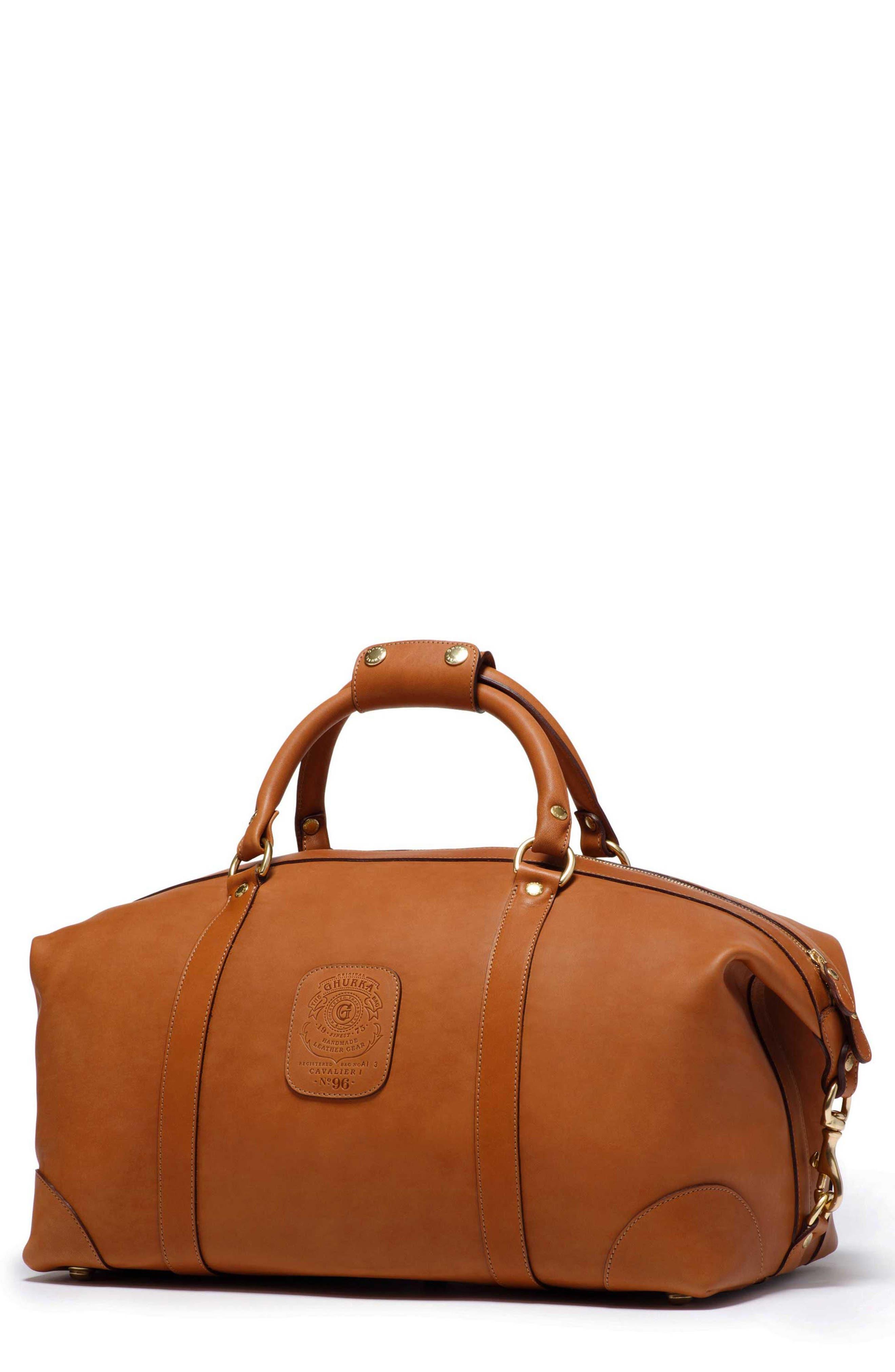 Ghurka Cavalier I Leather Duffel Bag