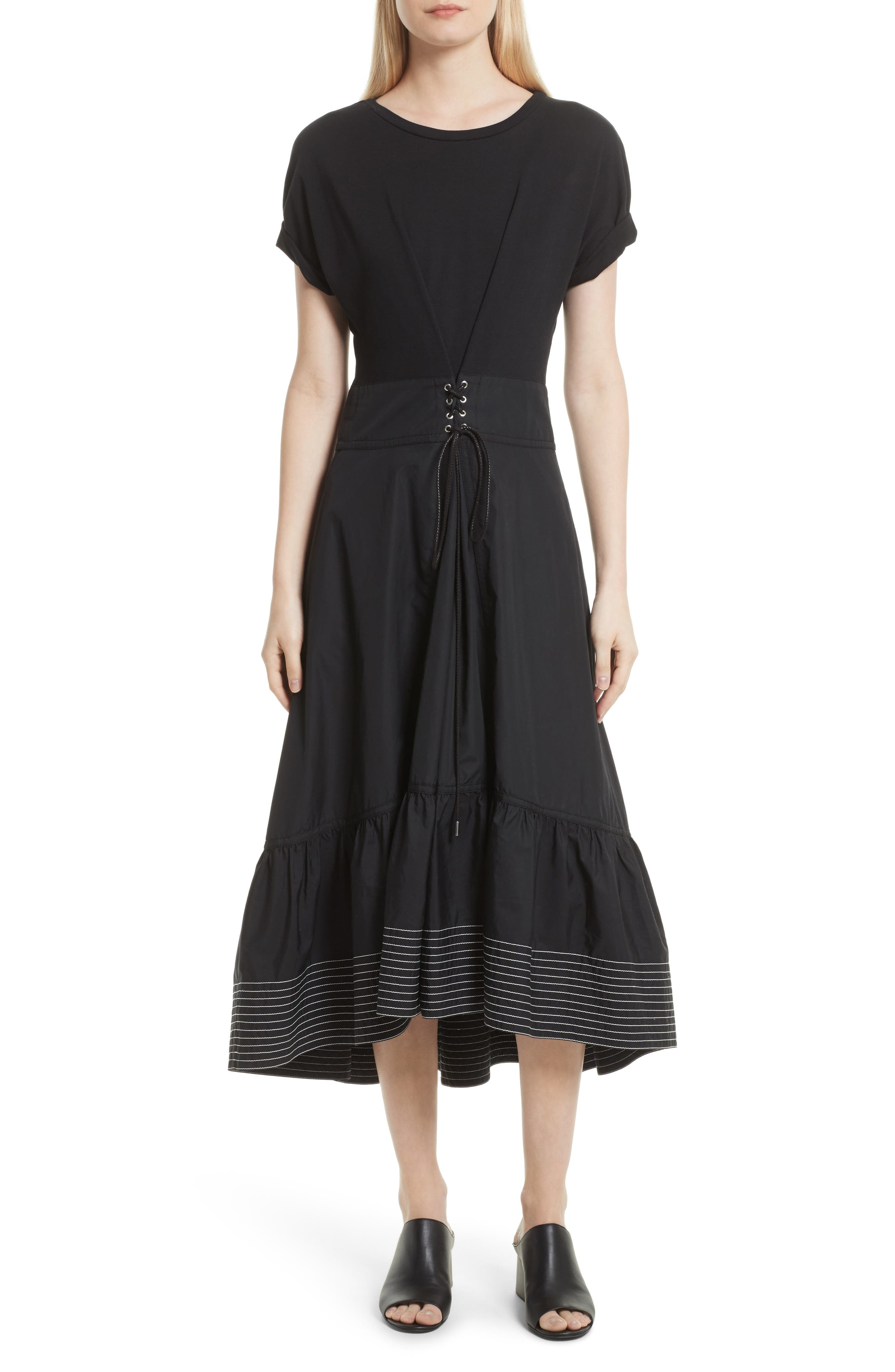 Alternate Image 1 Selected - 3.1 Phillip Lim Corset Waist Dress