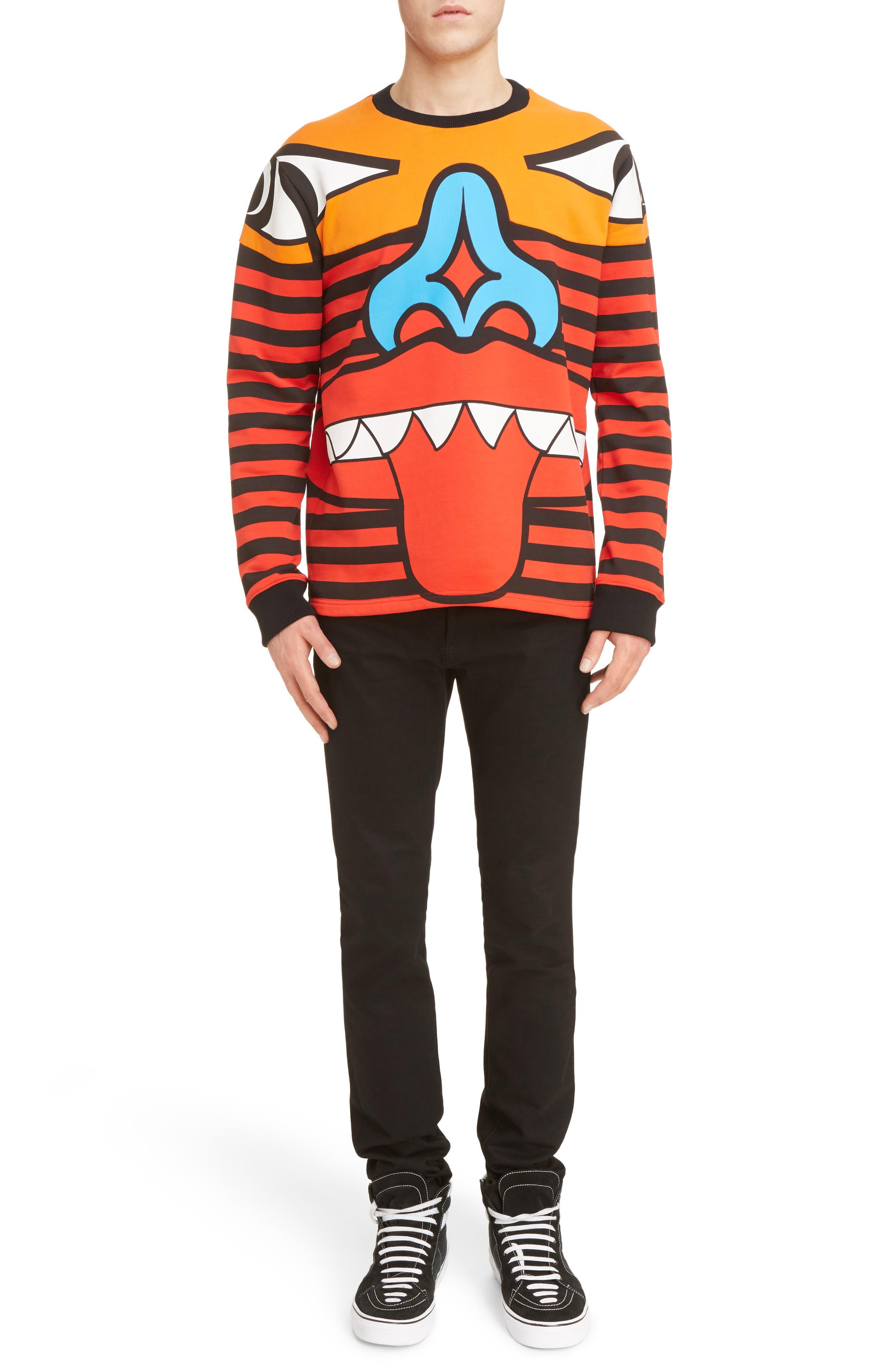 Alternate Image 6  - Givenchy Runway Totem Sweatshirt