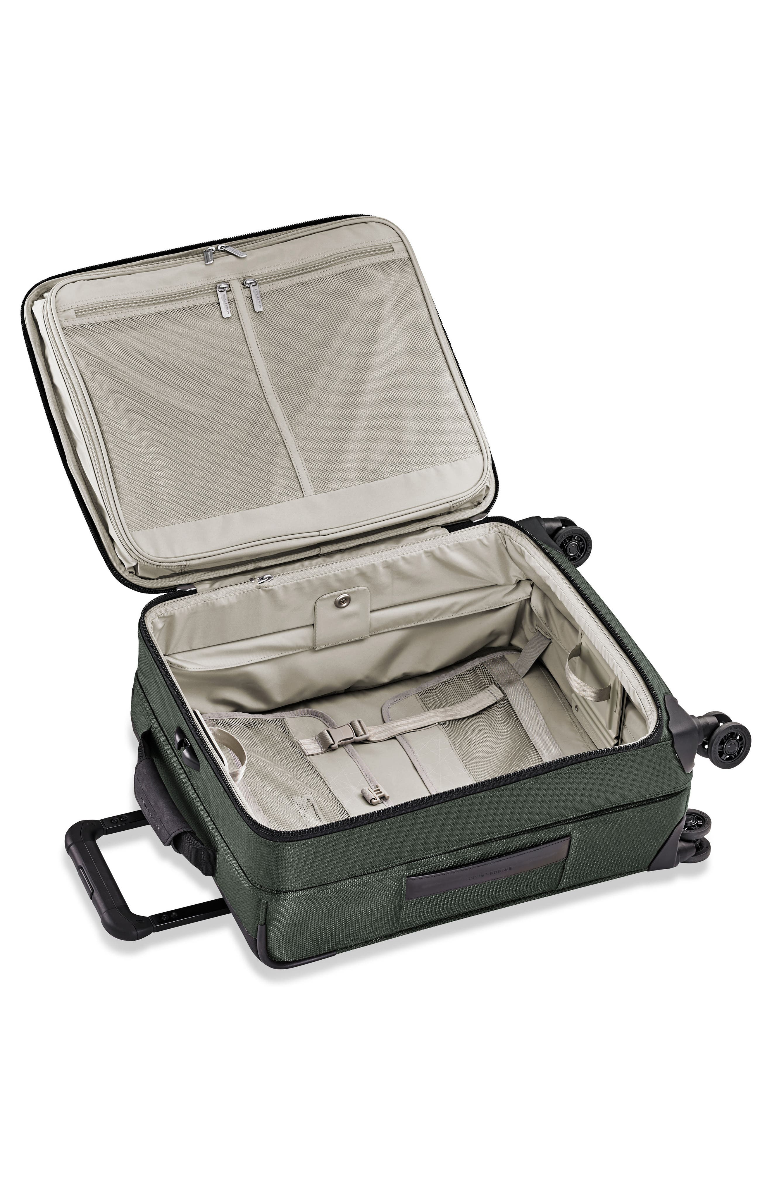 Transcend VX Wide Expandable 21-Inch Spinner Suitcase,                             Alternate thumbnail 2, color,                             Rainforest Green