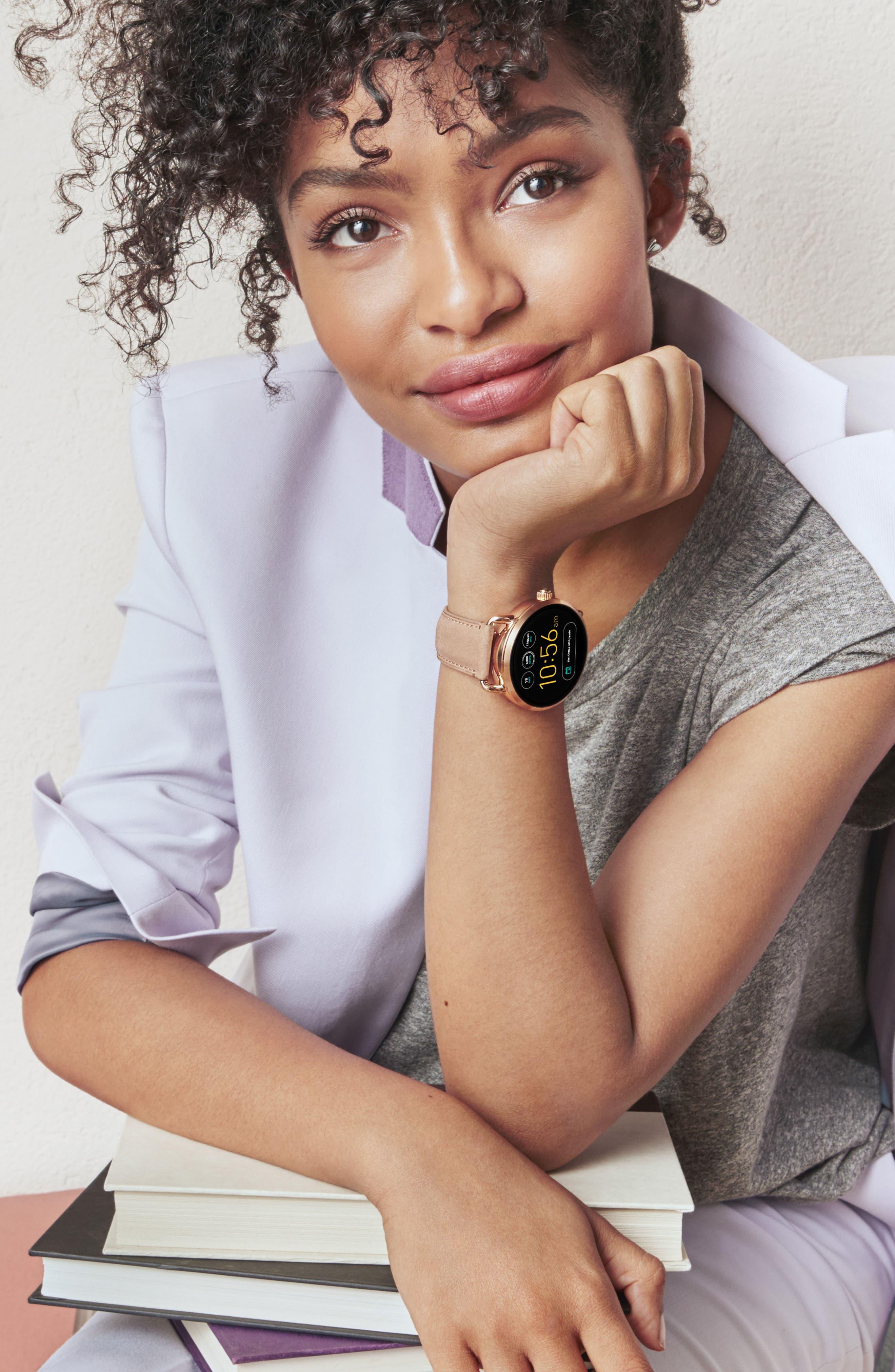 Alternate Image 8  - Fossil Q Wander Digital Smart Bracelet Watch, 45mm