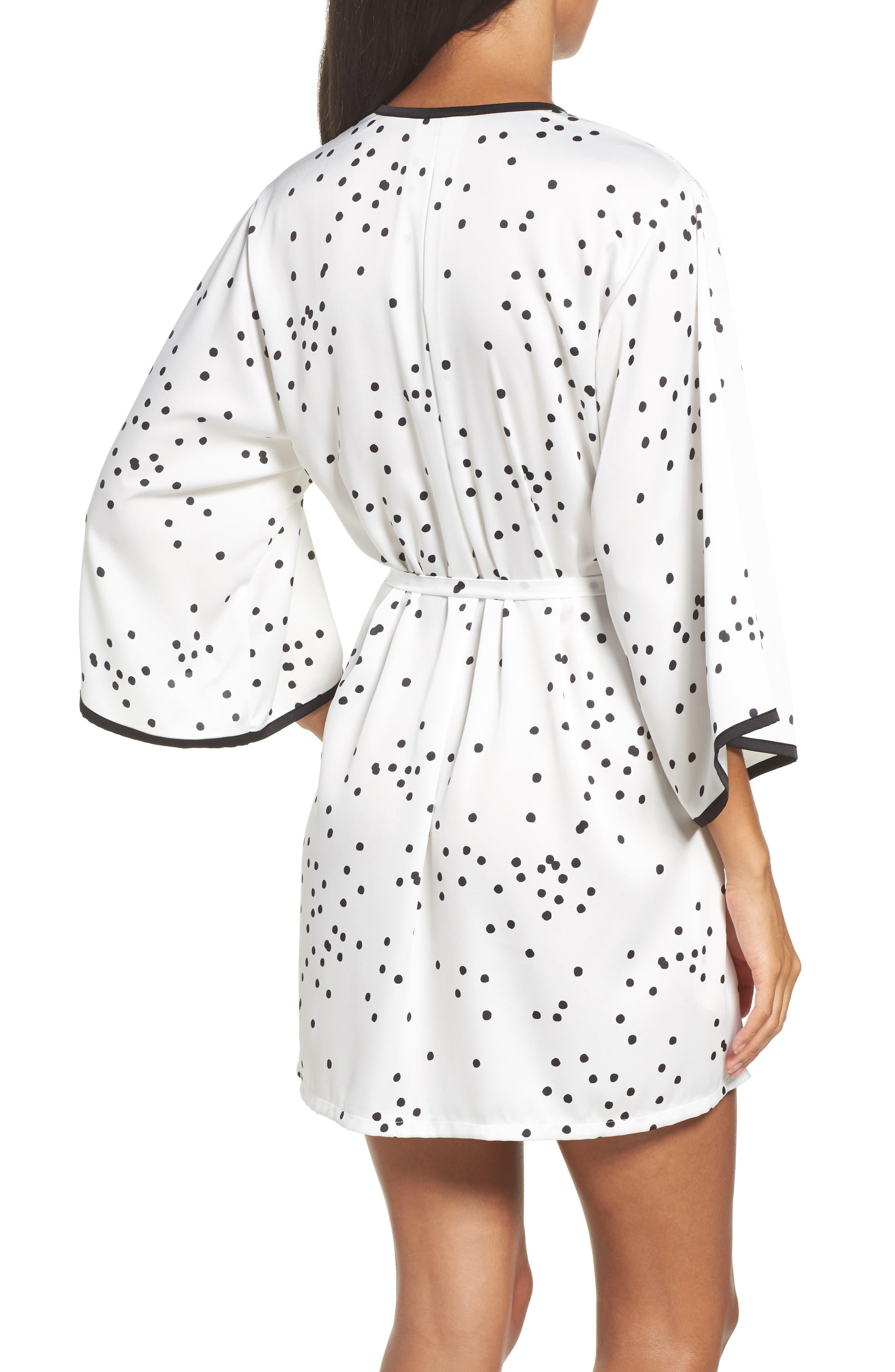 Alternate Image 2  - kate spade new york dot short robe