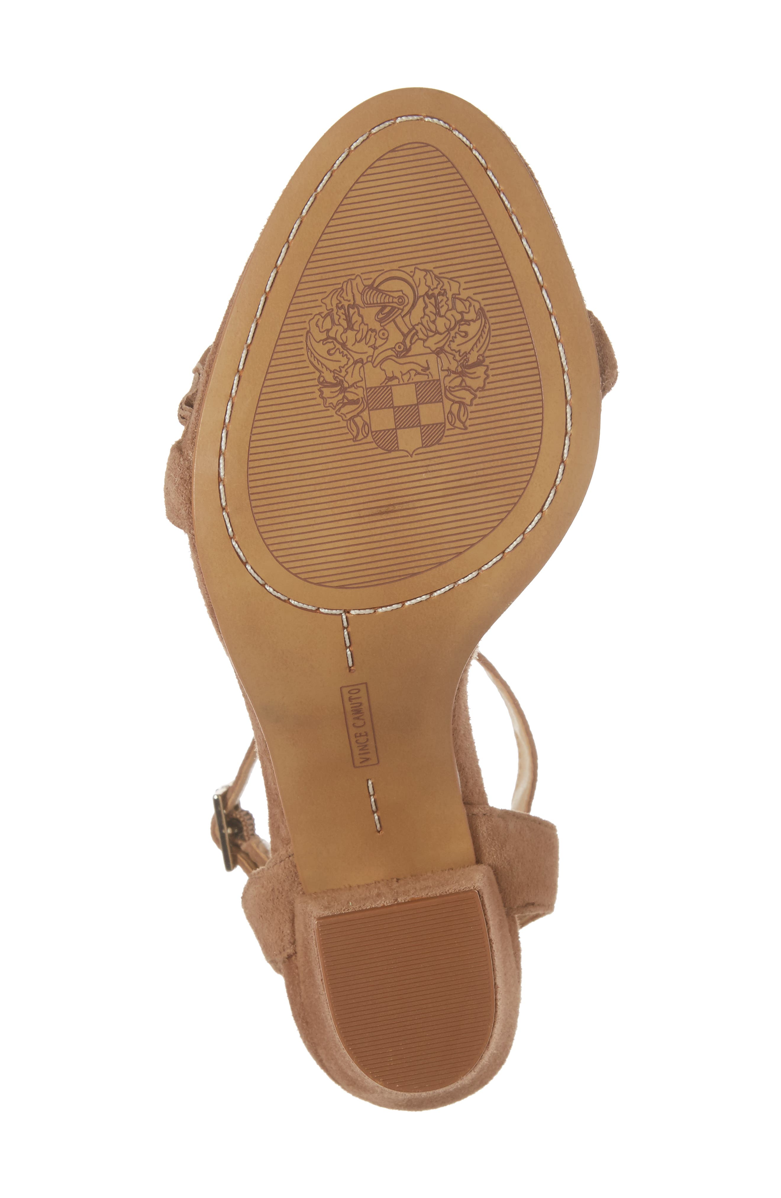 Vinta Sandal,                             Alternate thumbnail 7, color,                             Amendoa Suede