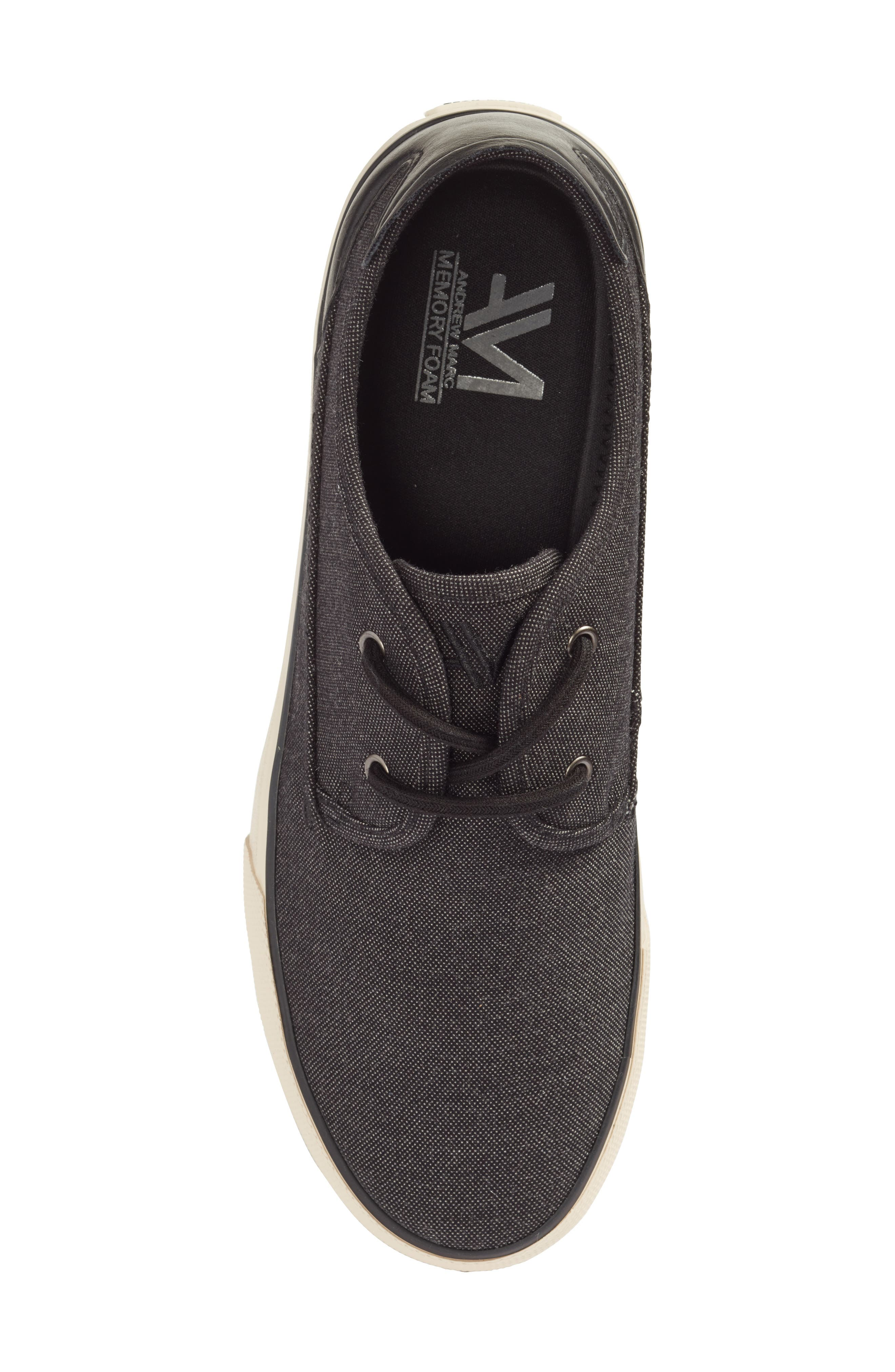 Morris Sneaker,                             Alternate thumbnail 5, color,                             Black/ Bone