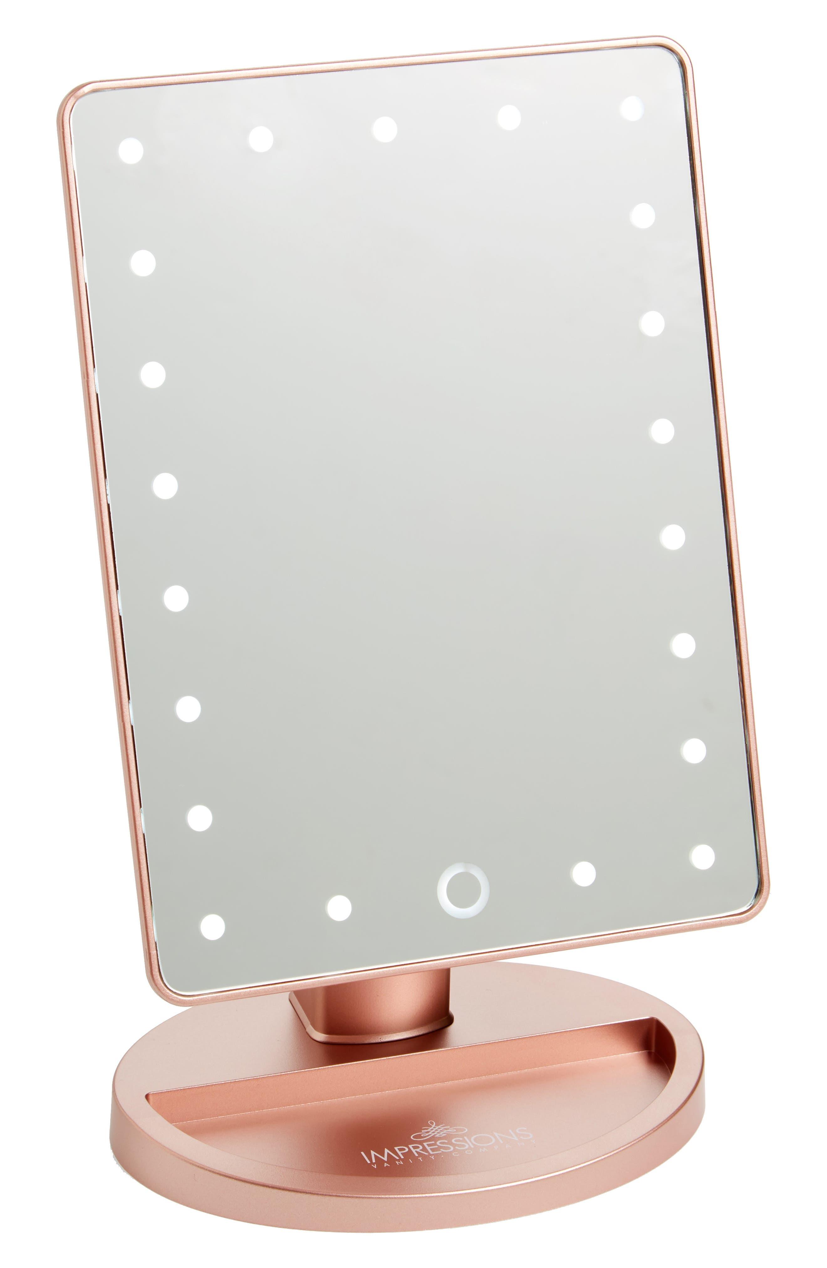mirror vanity. main image - impressions vanity co. touch 2.0 led mirror i