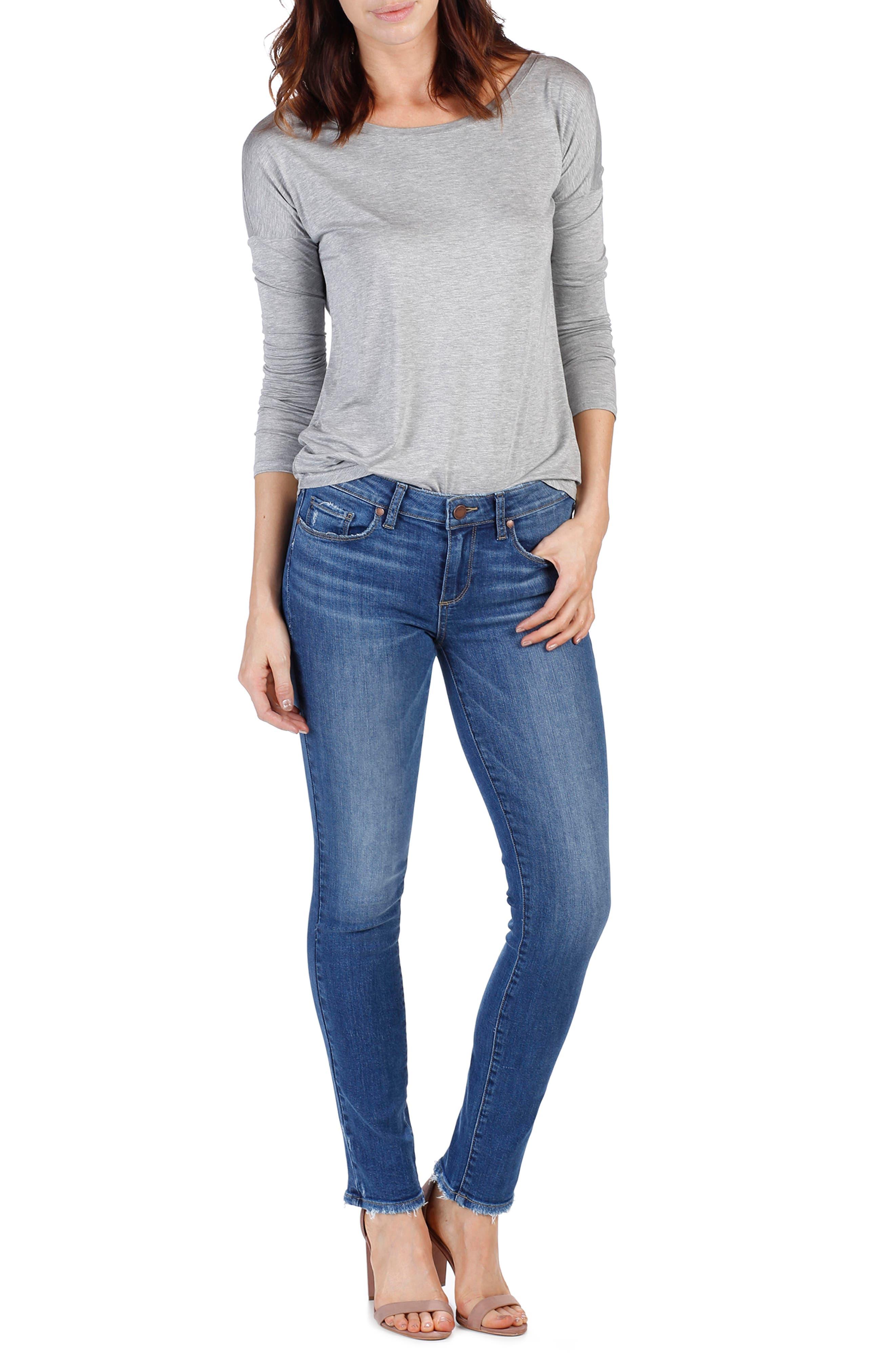 Skyline Skinny Jeans,                             Alternate thumbnail 2, color,                             Bali