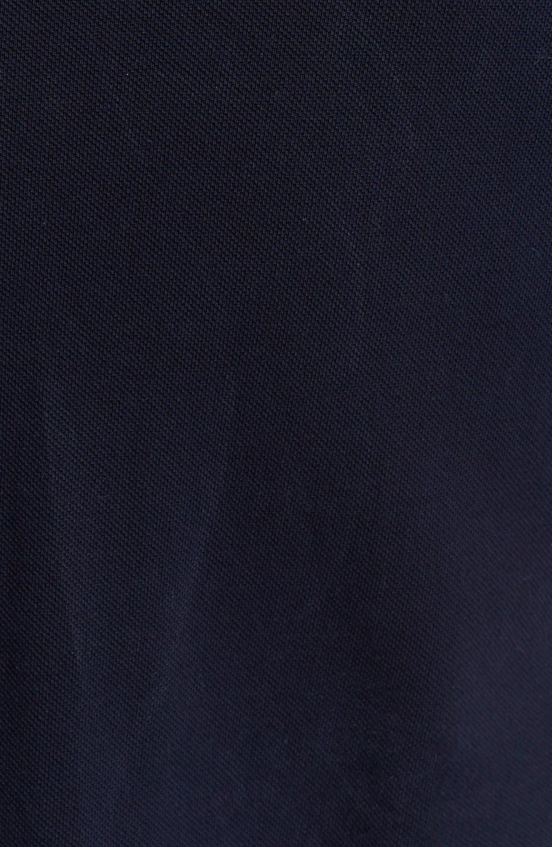 Alternate Image 3  - Comme des Garçons PLAY Piqué Polo with Small Heart Appliqué