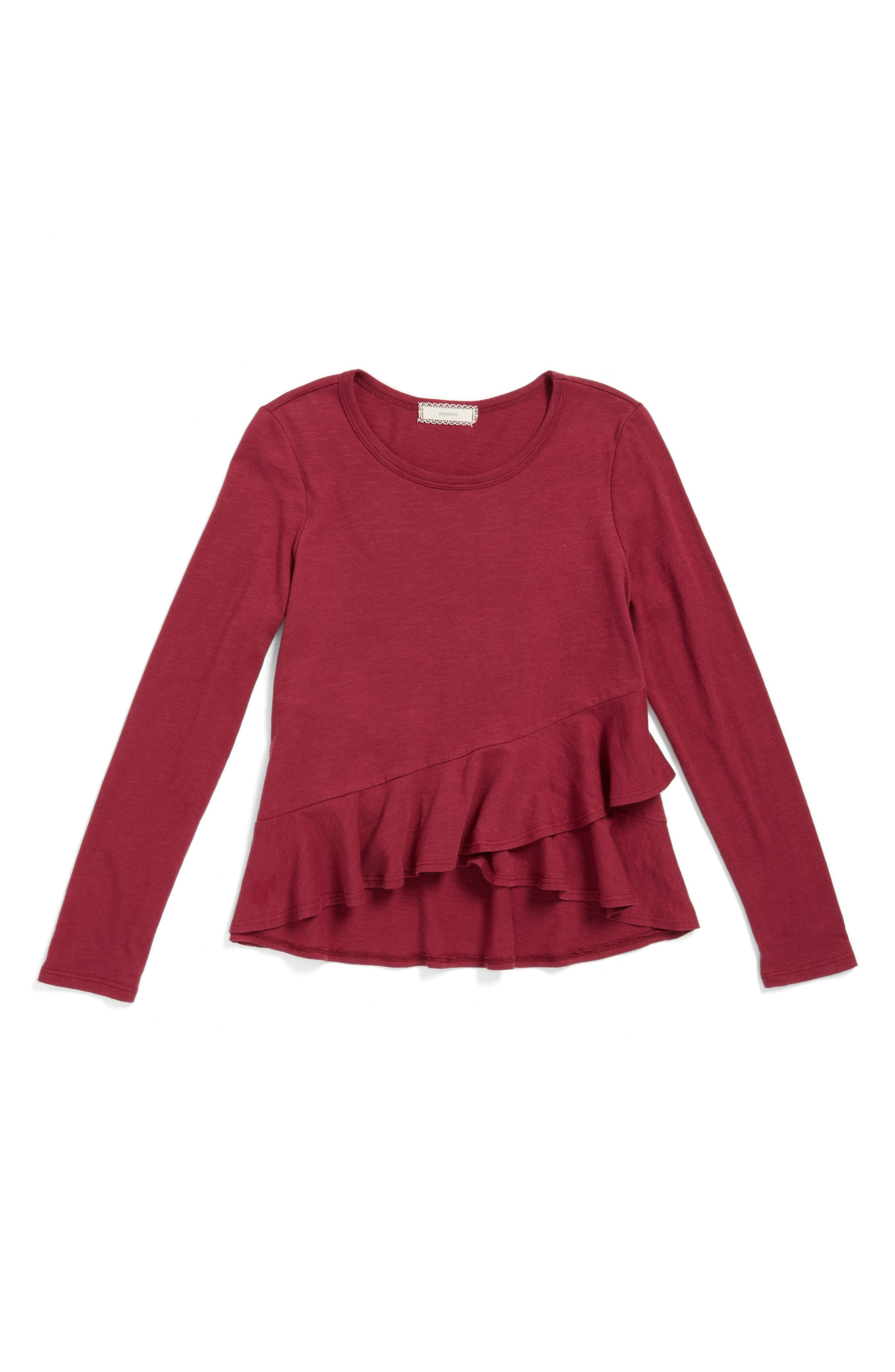 Soprano Ruffle Shirt (Big Girls)