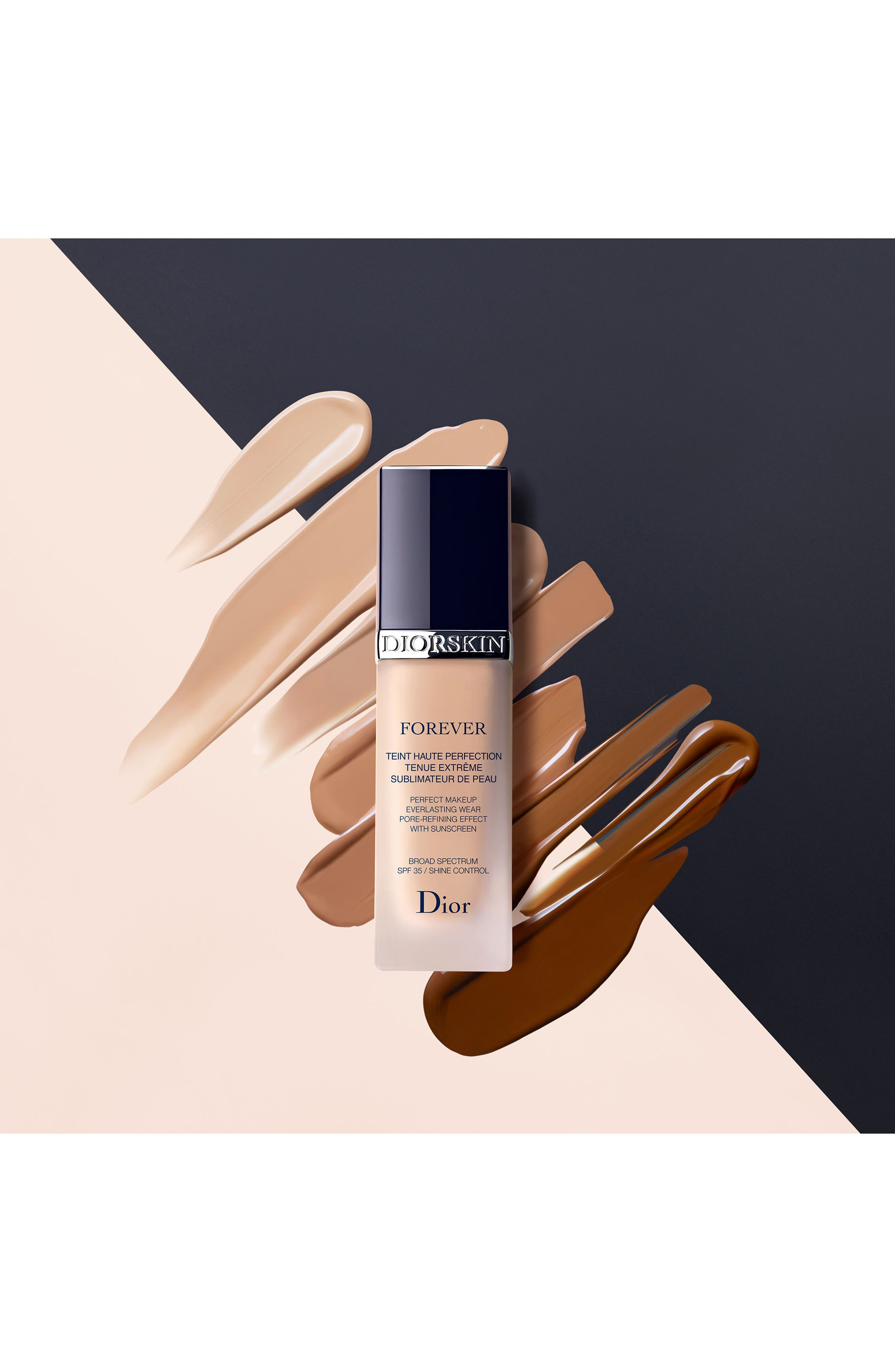 Alternate Image 2  - Dior Diorskin Forever Perfect Foundation Broad Spectrum SPF 35