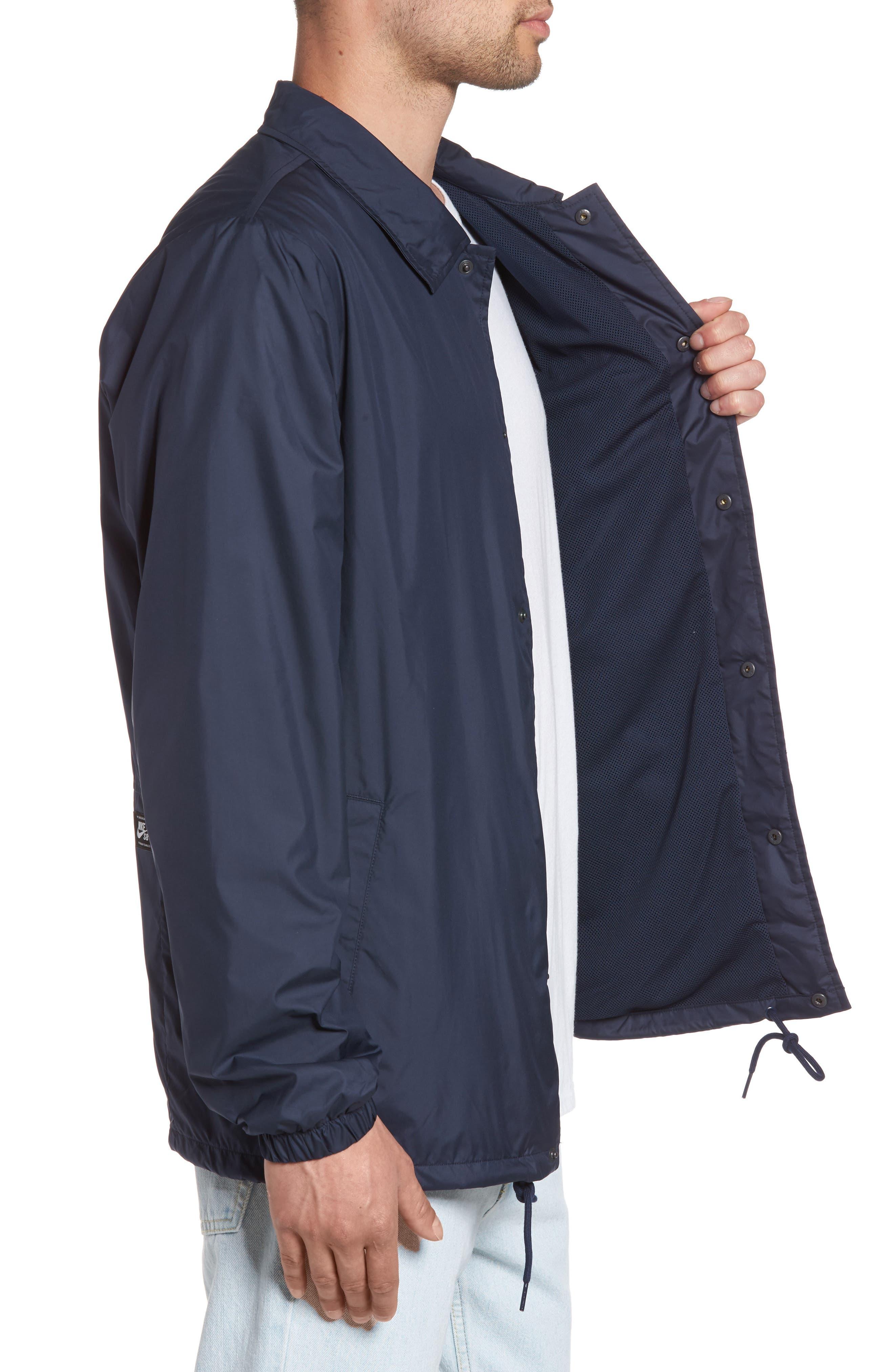 Shield Coach's Jacket,                             Alternate thumbnail 3, color,                             Obsidian