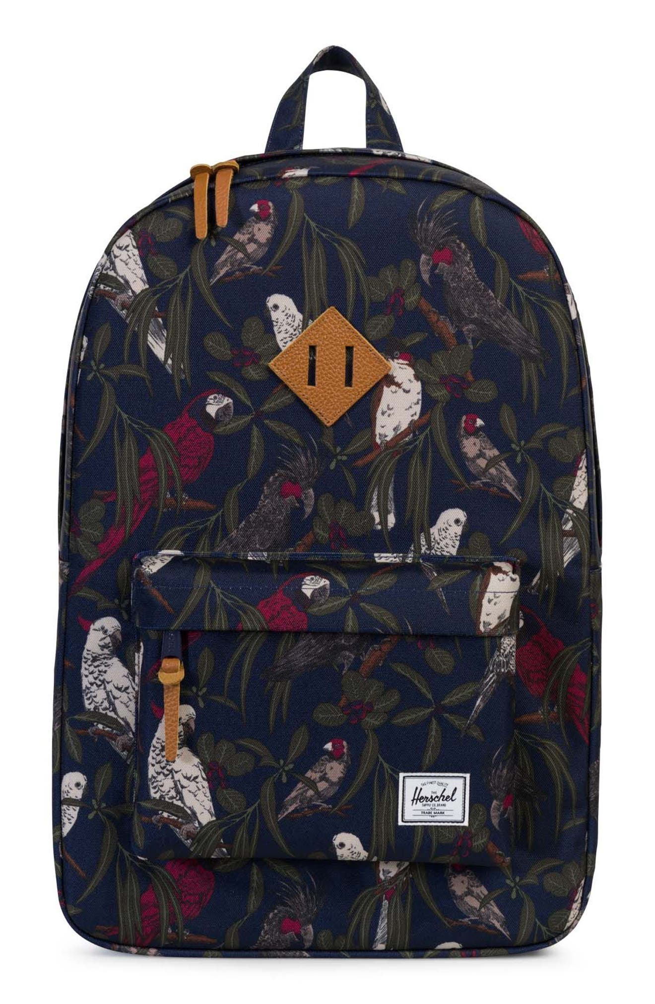 Heritage Backpack,                             Main thumbnail 1, color,                             Peacoat Parlour
