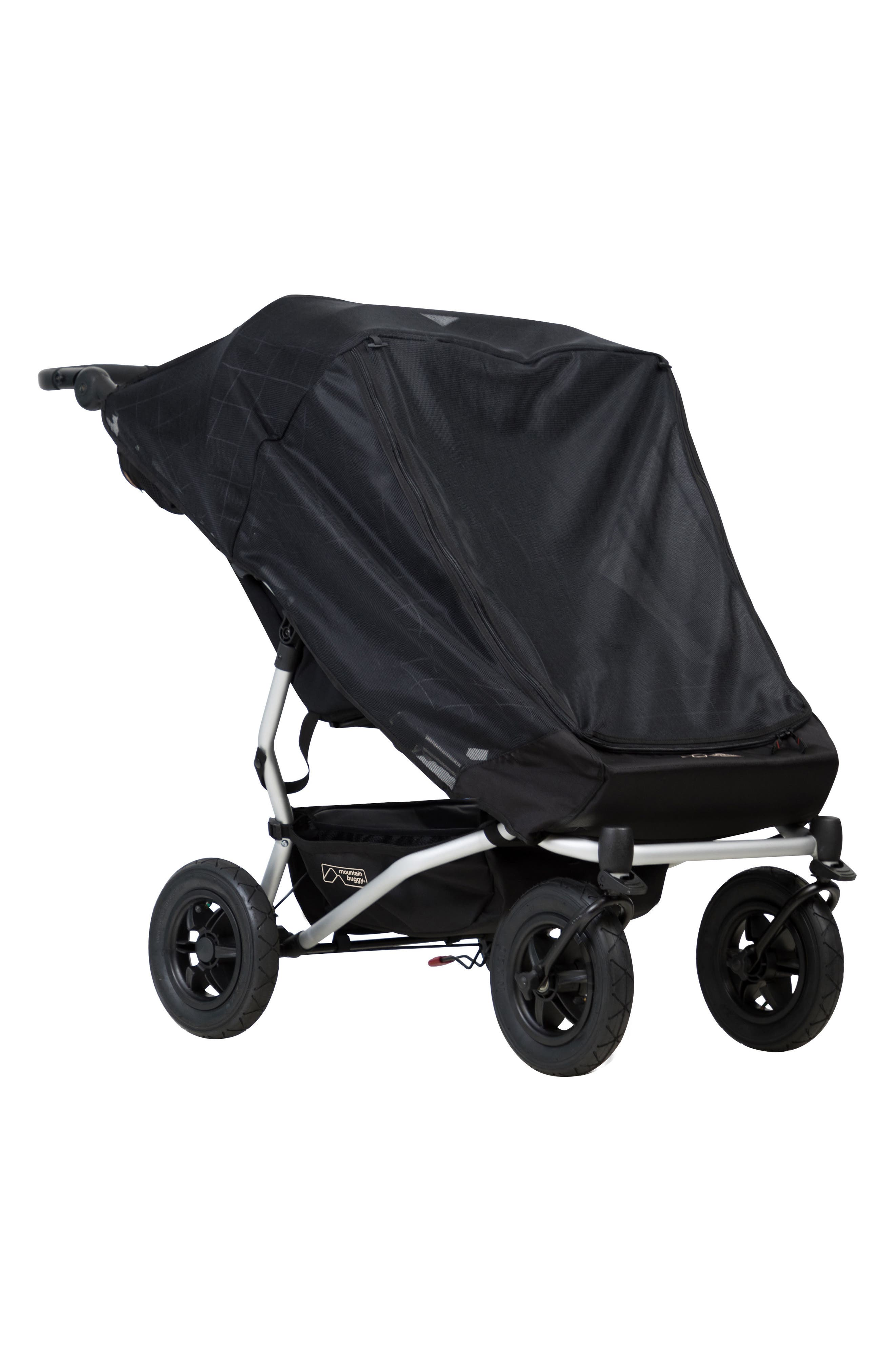 Alternate Image 1 Selected - mountain buggy 2017 Duet Stroller Double Storm Cover