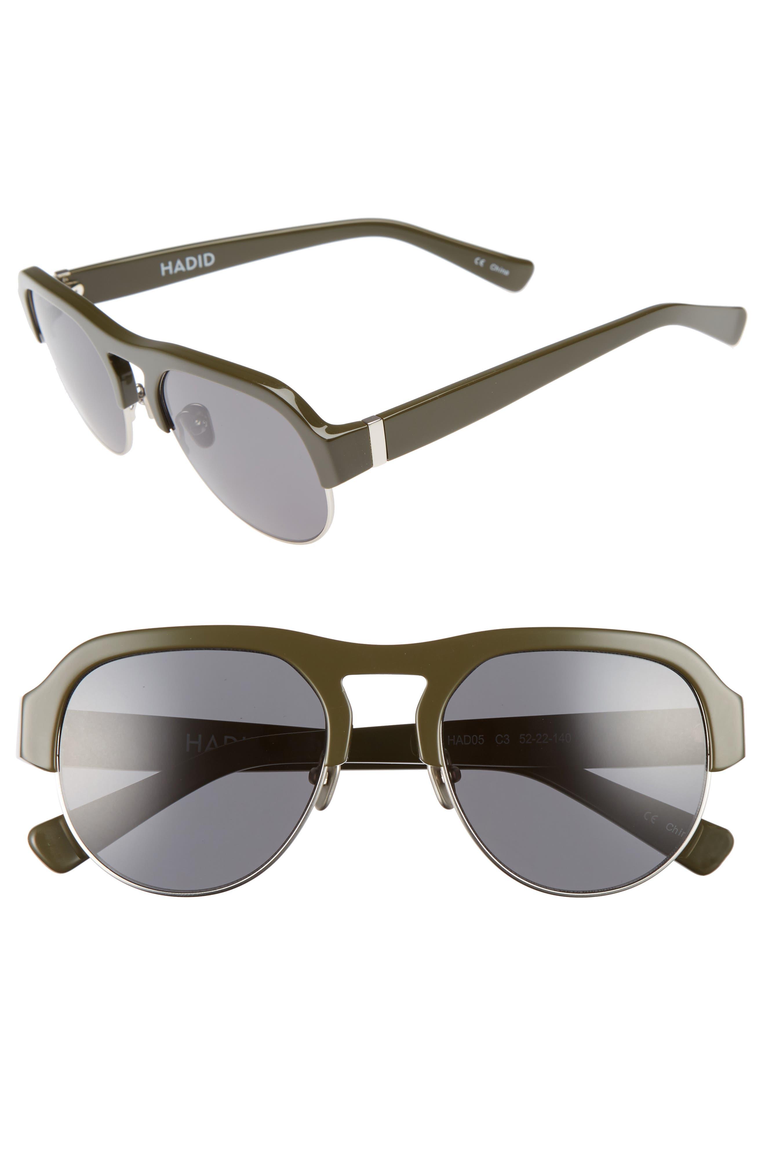 Hadid Nomad 52mm Sunglasses