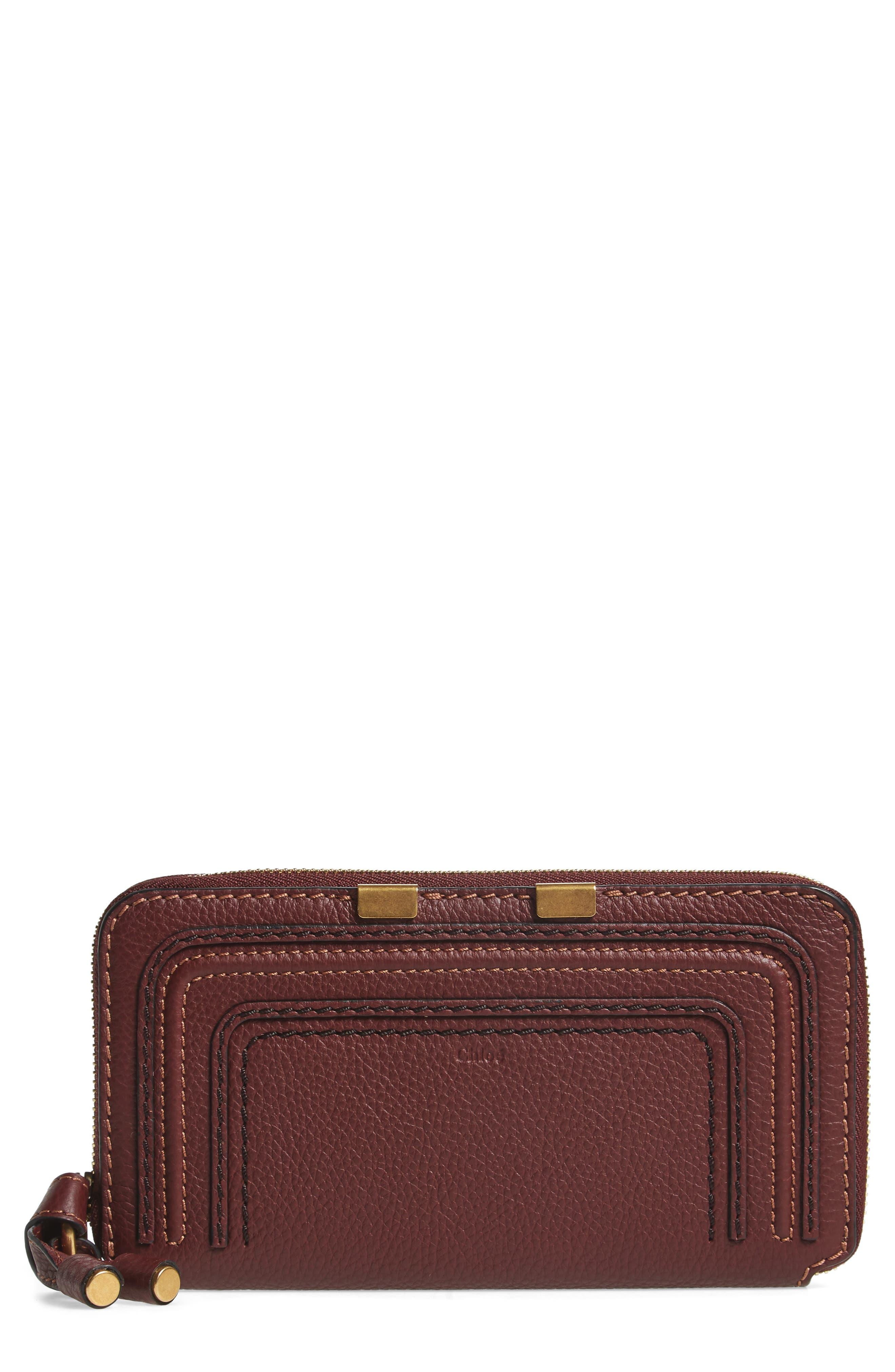 Chloé 'Marcie - Long' Zip Around Wallet