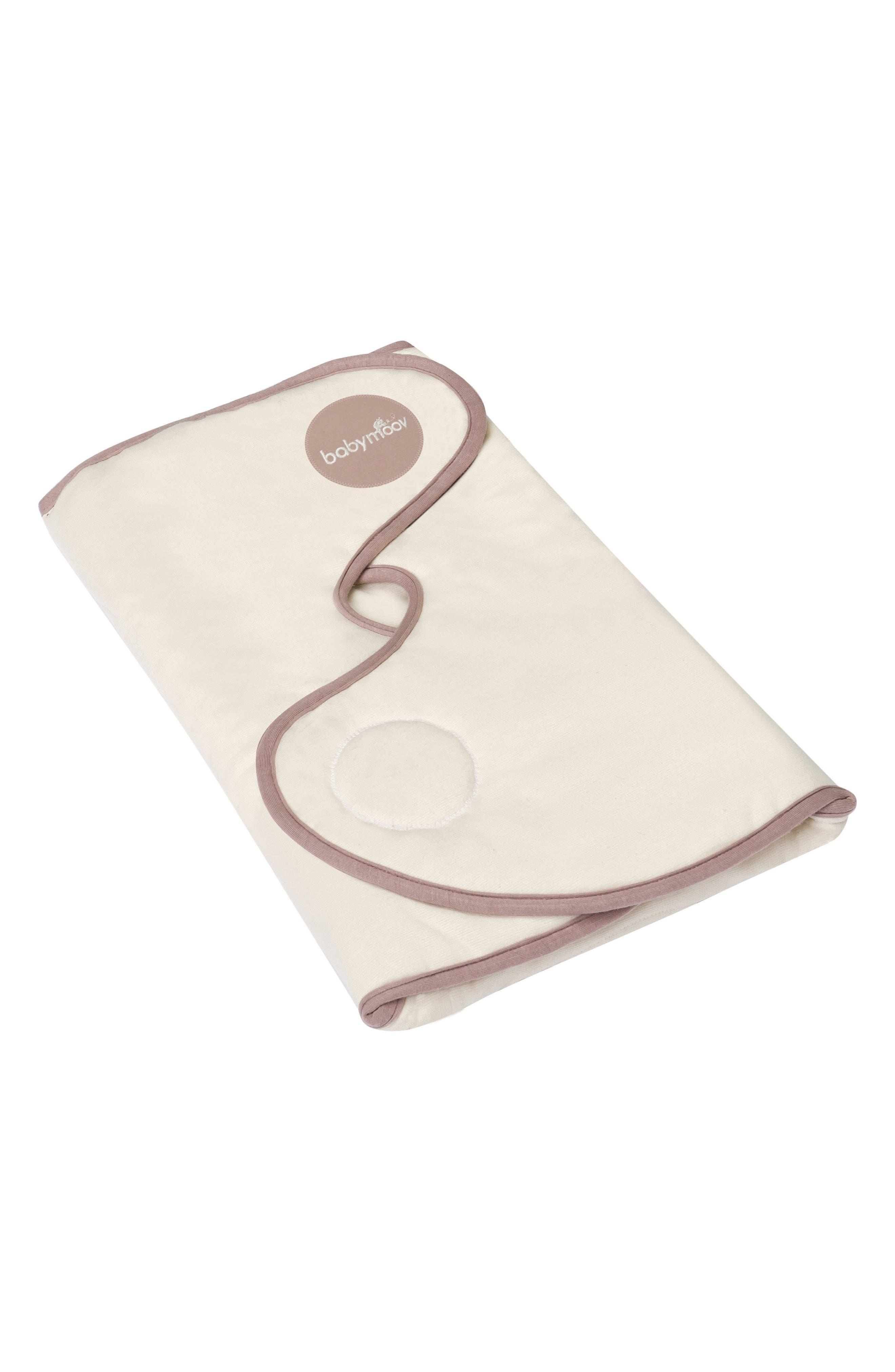 CozyCover Swaddle Wrap Blanket,                             Main thumbnail 1, color,                             Cream