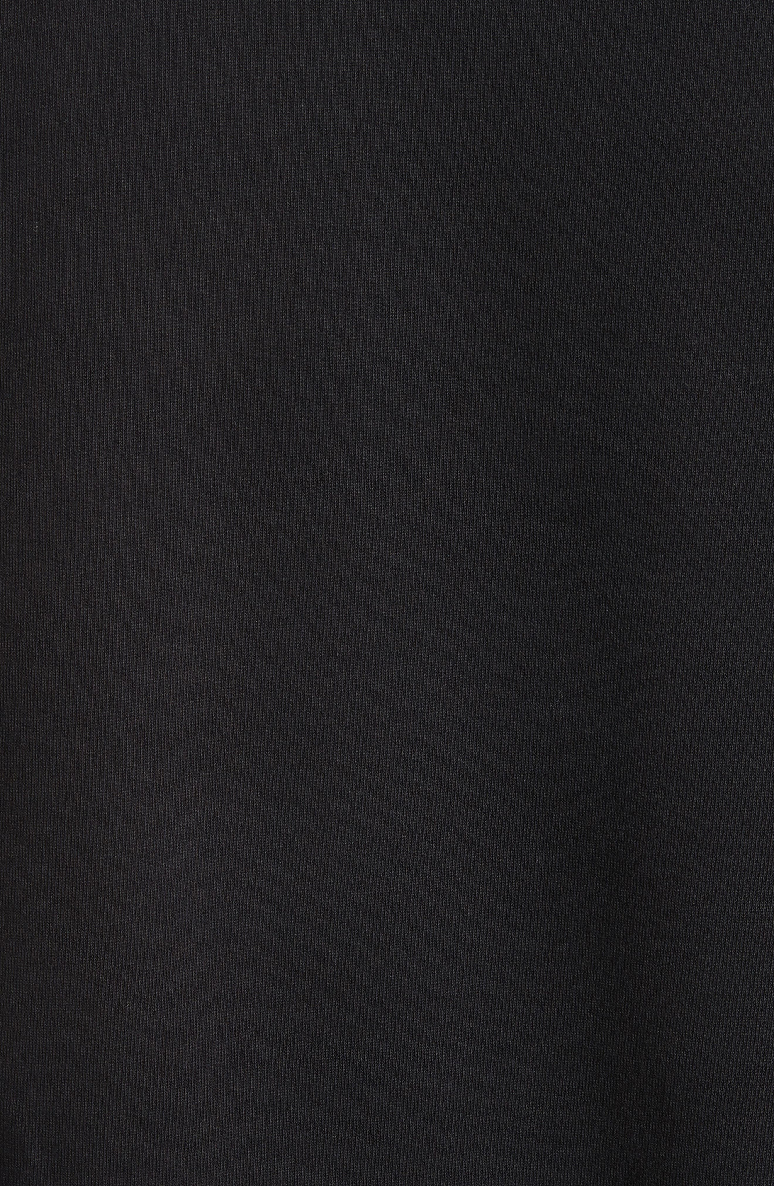 Cuban Fit Realize Sweatshirt,                             Alternate thumbnail 5, color,                             Black