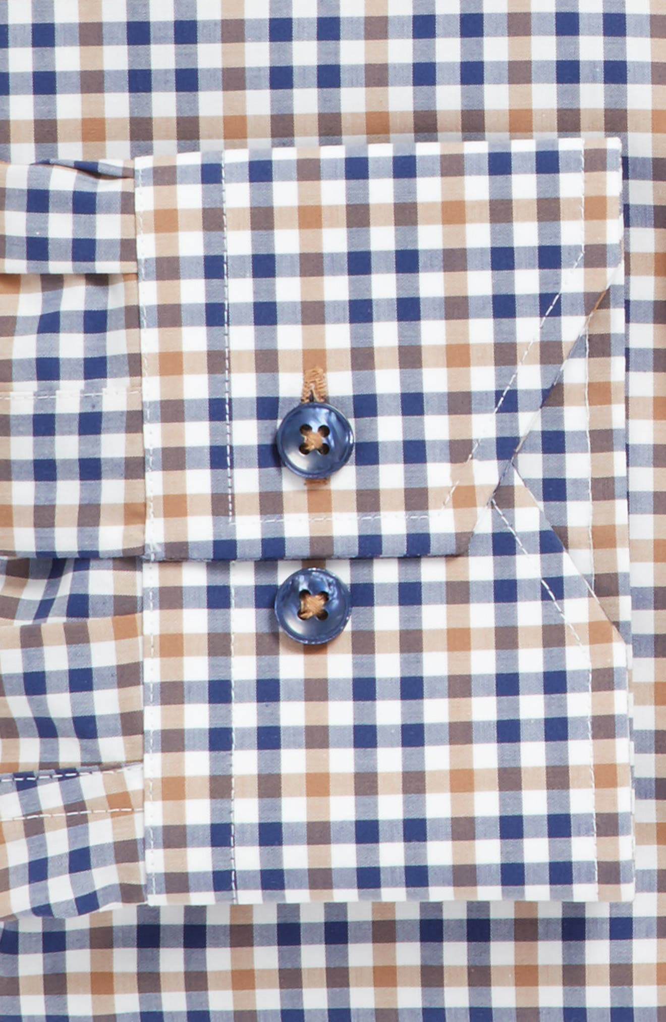 Alternate Image 3  - Lorenzo Uomo Trim Fit Check Dress Shirt