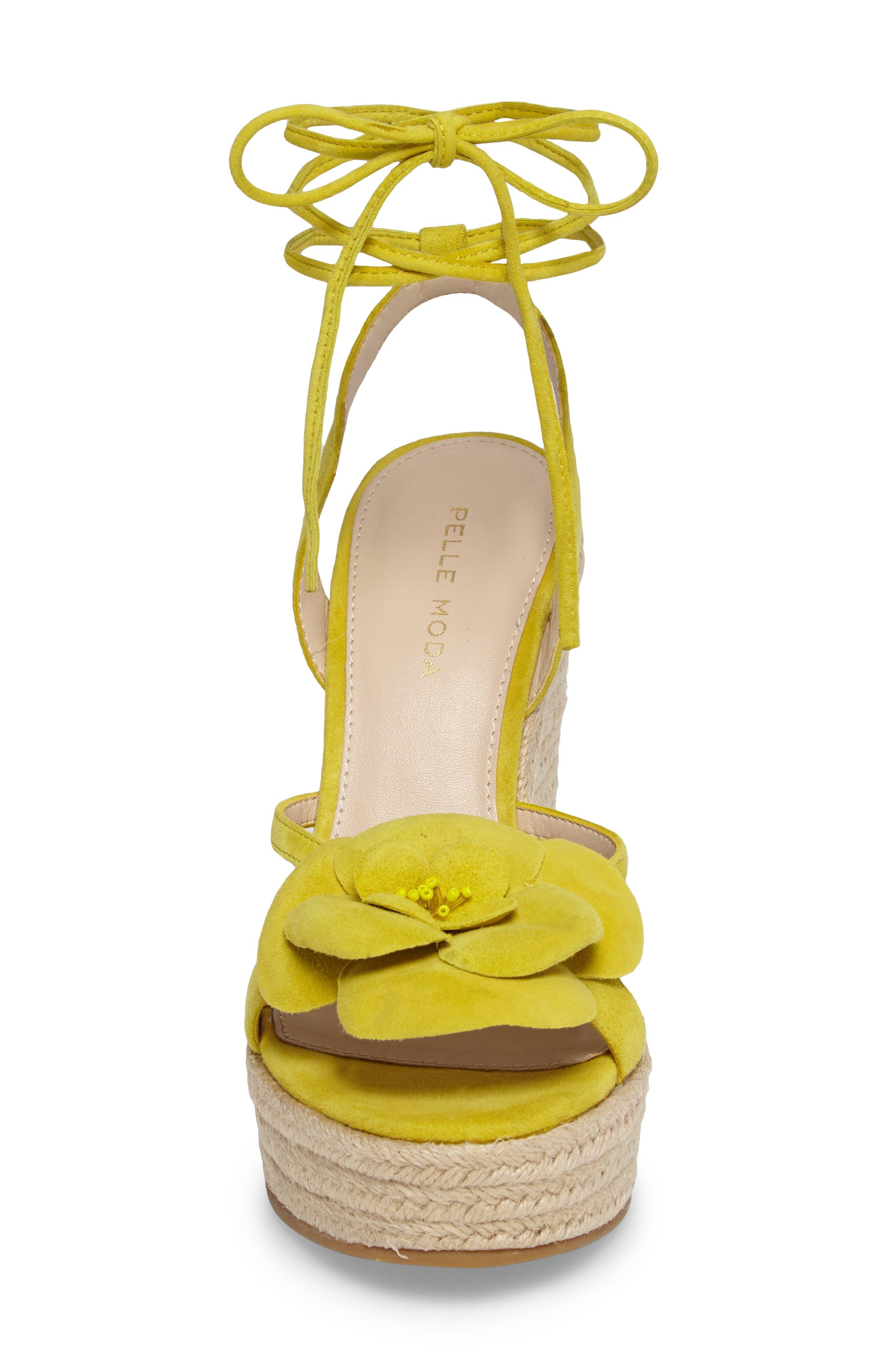 Alternate Image 5  - Pelle Moda Olena Espadrille Wedge Sandal (Women)