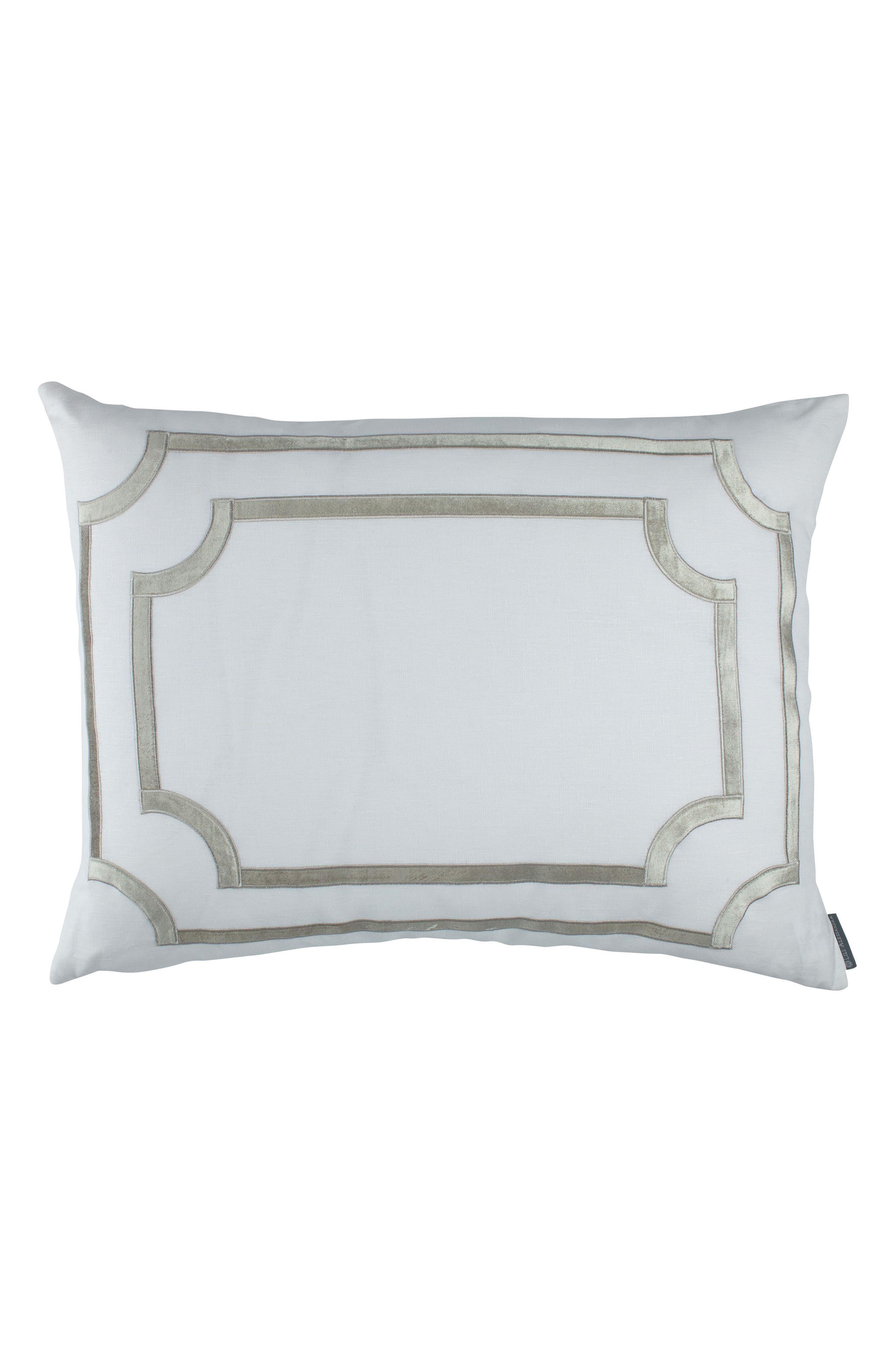 SoHo Sham,                         Main,                         color, White Ice Silver