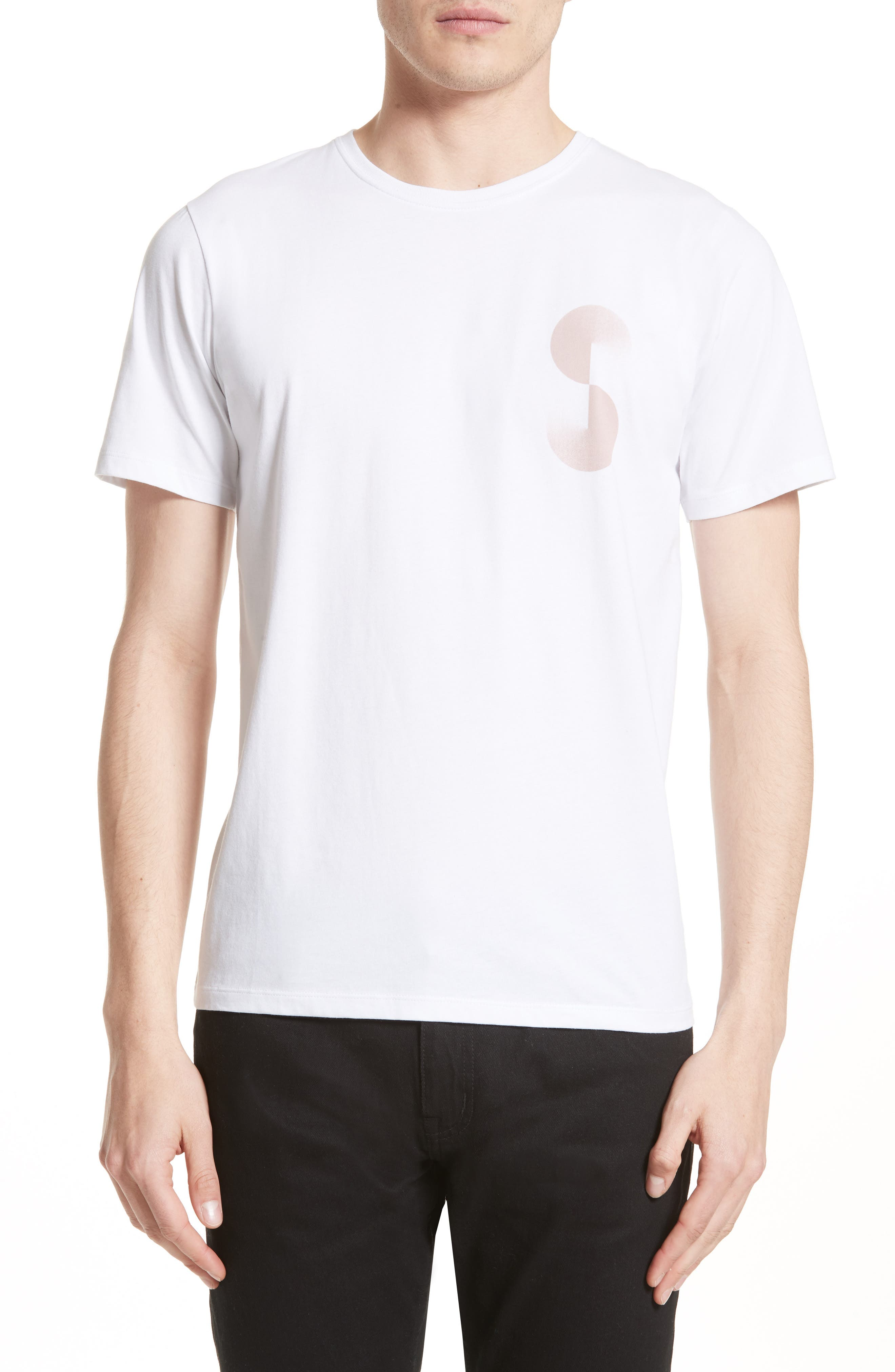 Alternate Image 1 Selected - Saturdays NYC Gradient Graphic T-Shirt