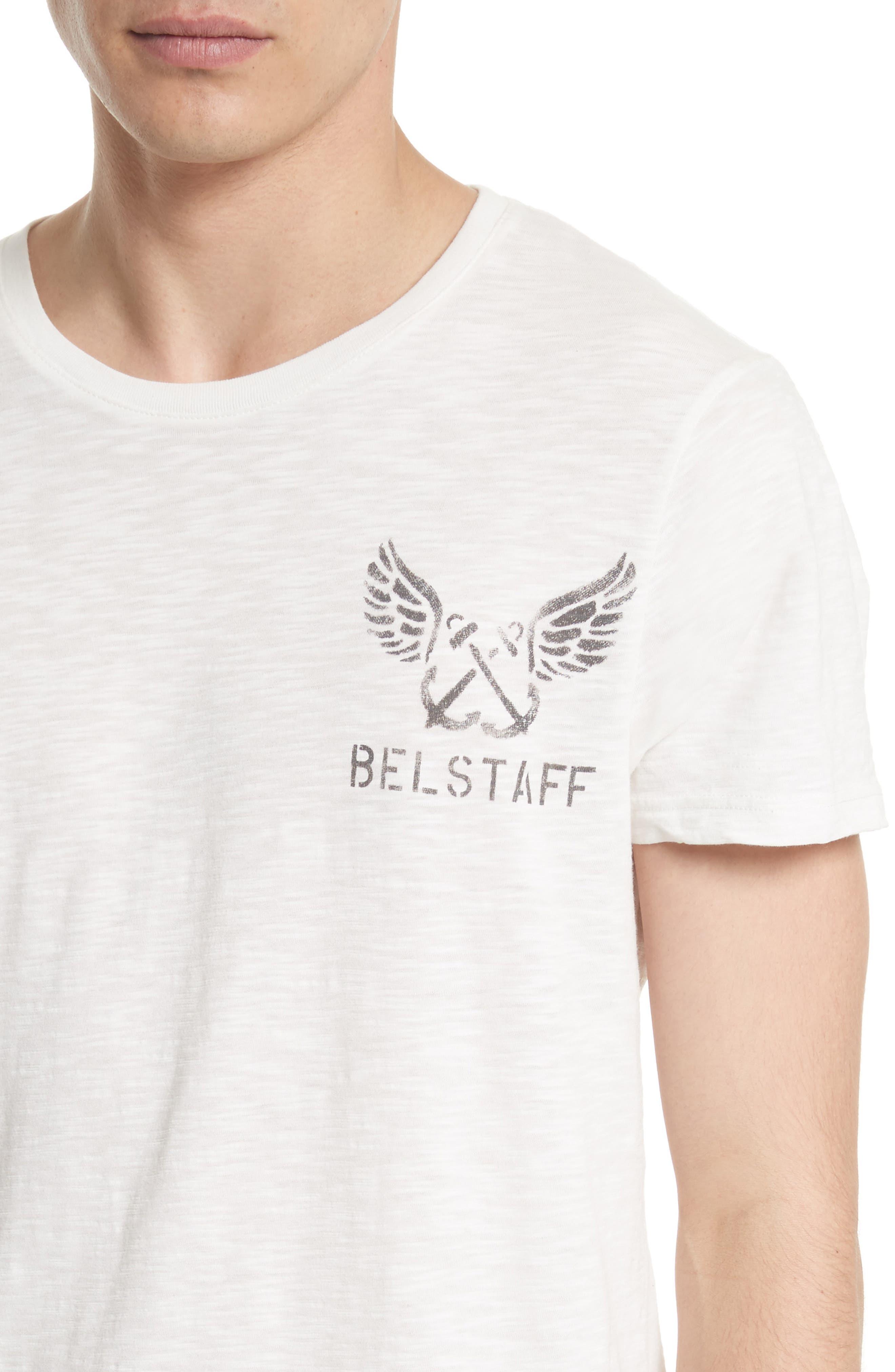 Hamberton Logo T-Shirt,                             Alternate thumbnail 4, color,                             Off White