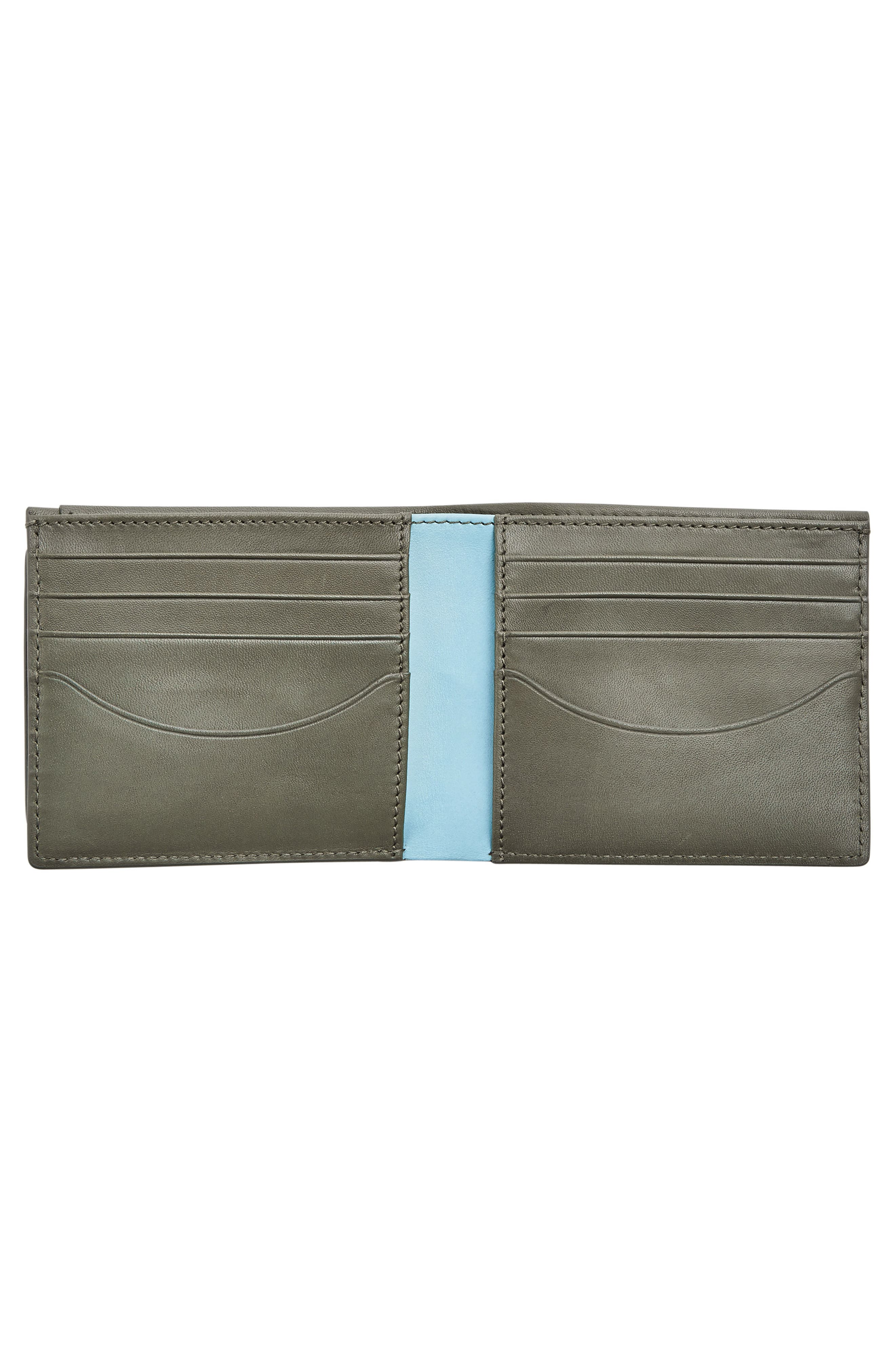 Alternate Image 2  - Skagen Leather Passcase Wallet
