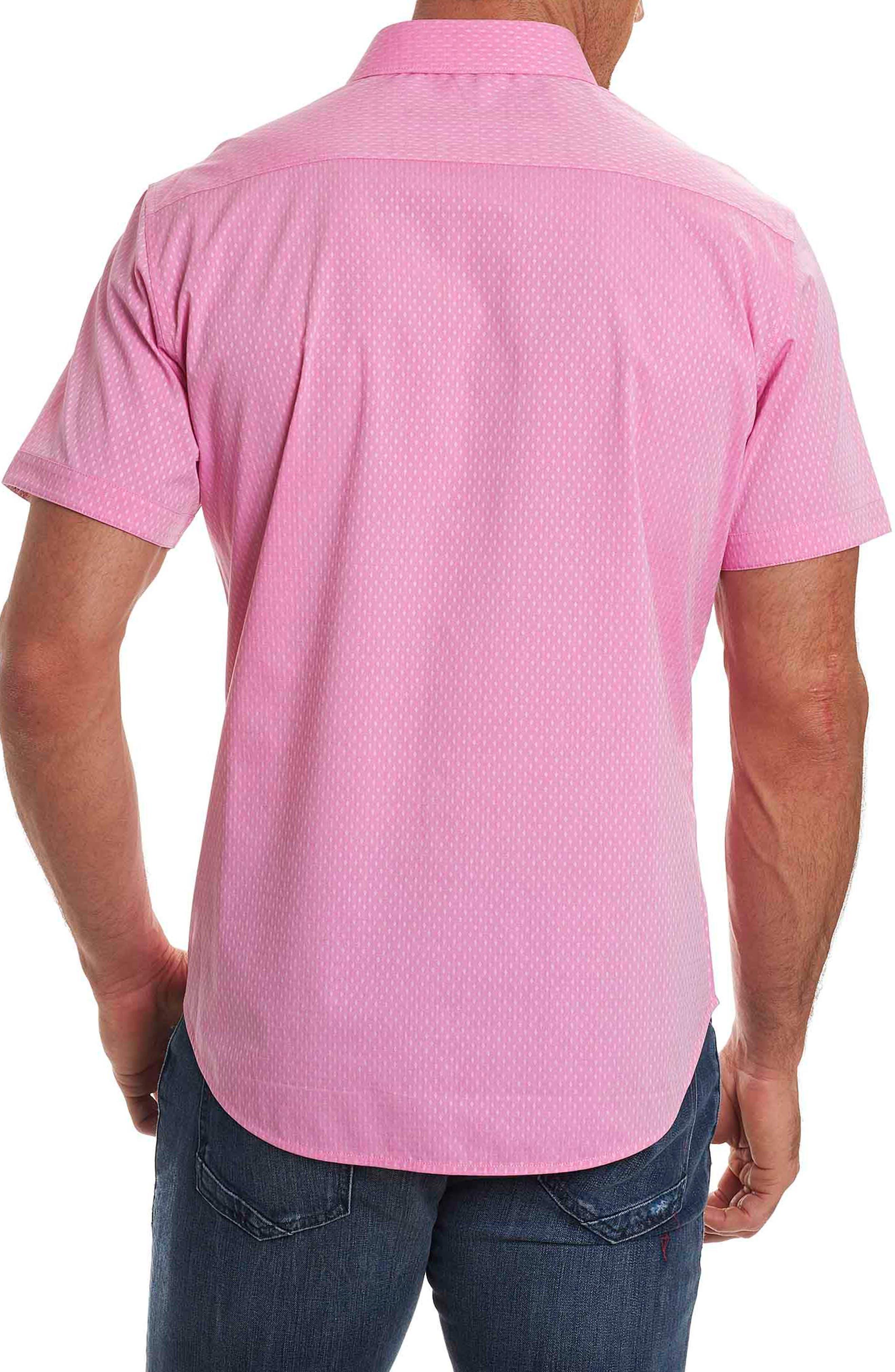 Alternate Image 2  - Robert Graham Clemens Short Sleeve Sport Shirt