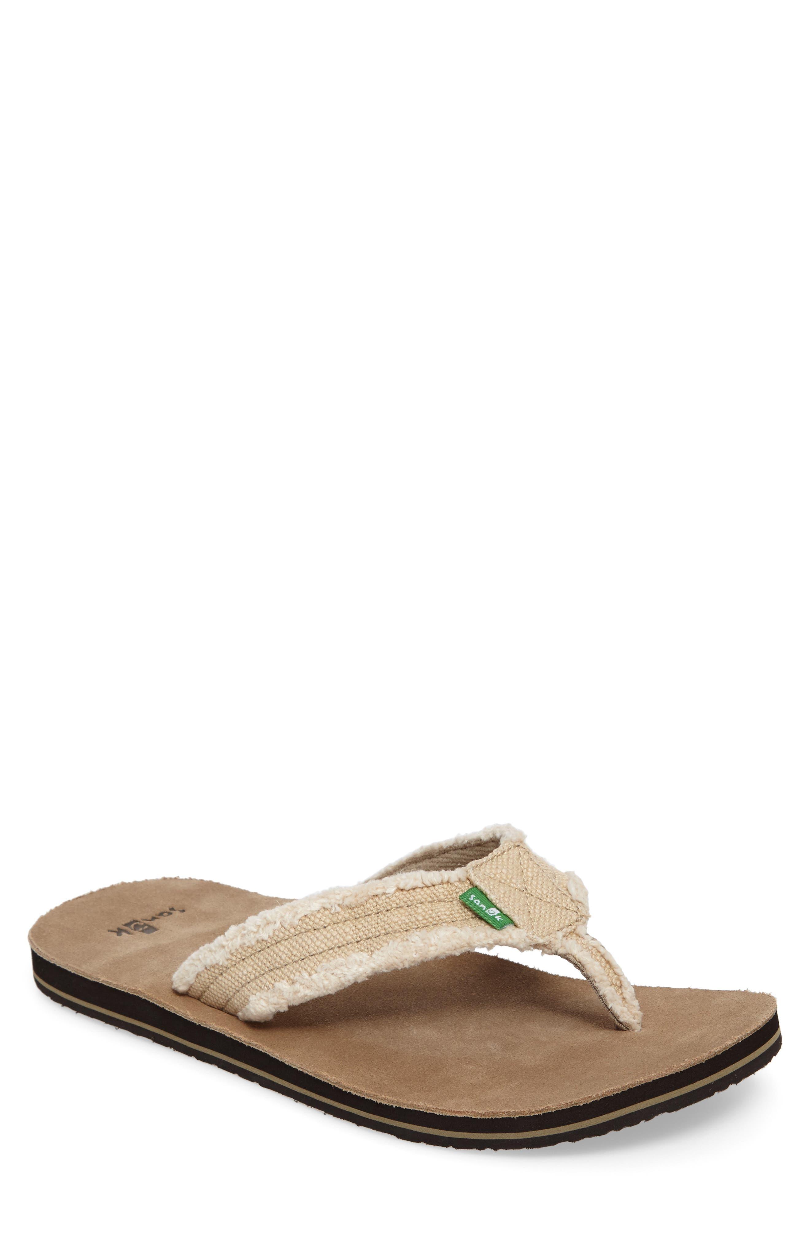 0b707c481ad99 buy cheap Sanuk 'Fraid Not' Flip Flop (Men) · free shipping ...