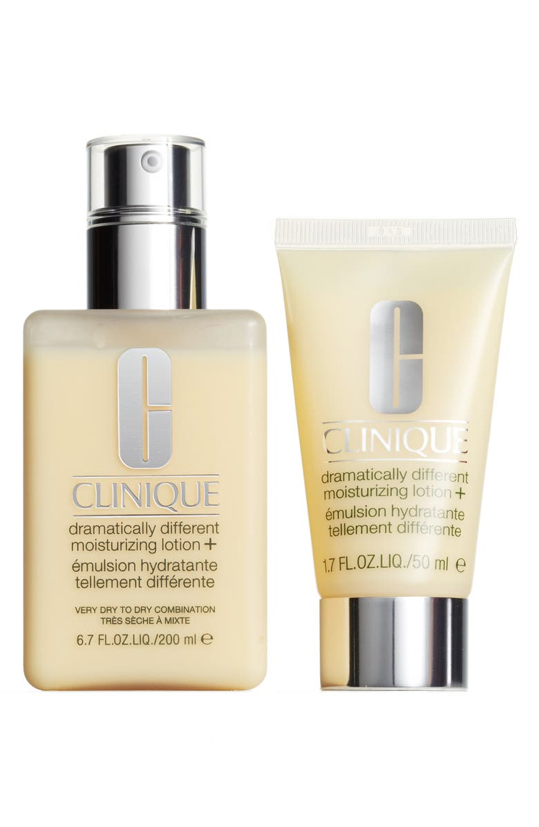 Clinique Big Genius Little Genius Dramatically Different Moisturizing Lotion+ Duo ($53.50 Value) | Nordstrom
