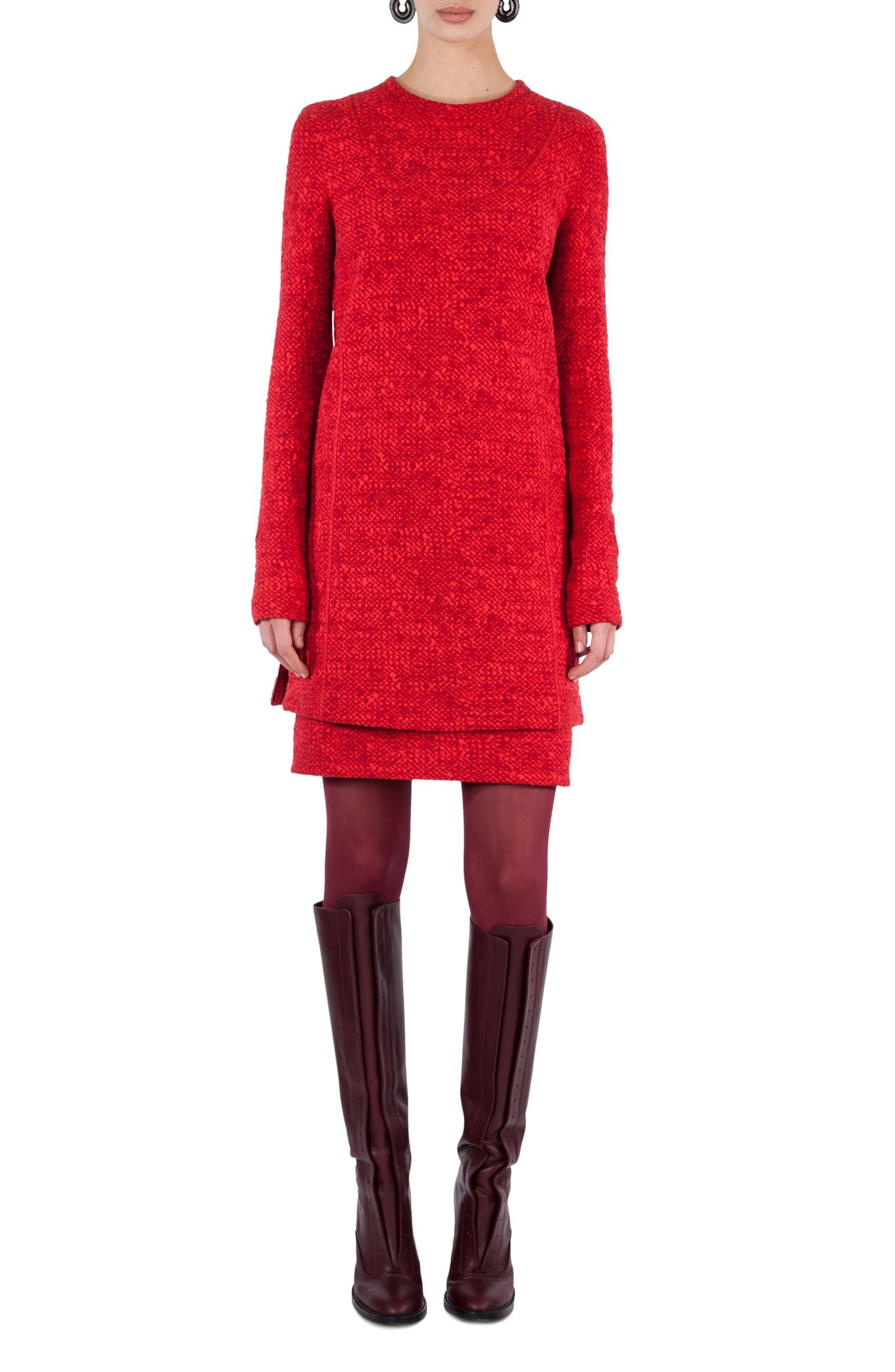 Alternate Image 4  - Akris punto Mélange Knit Tunic Pullover