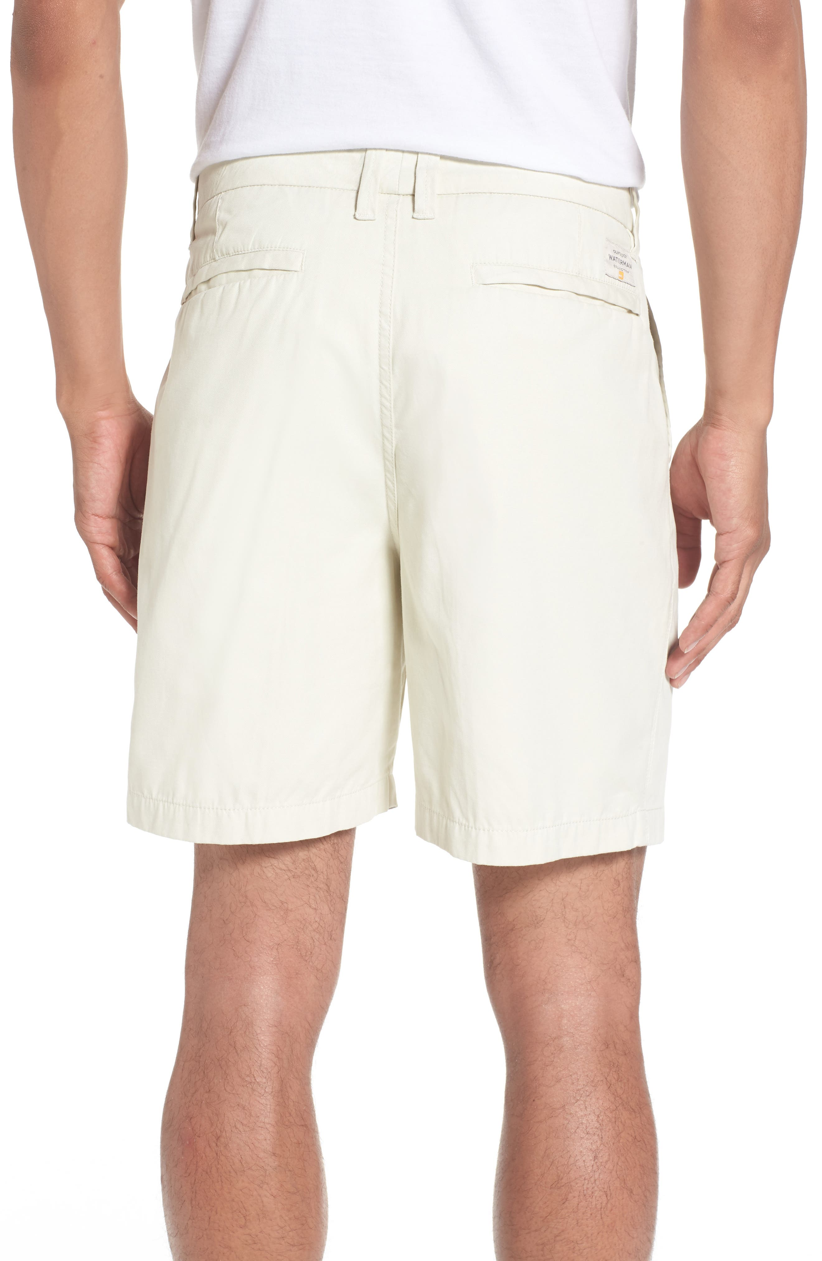 Alternate Image 2  - Quiksilver Waterman Collection Shortie Chino Shorts