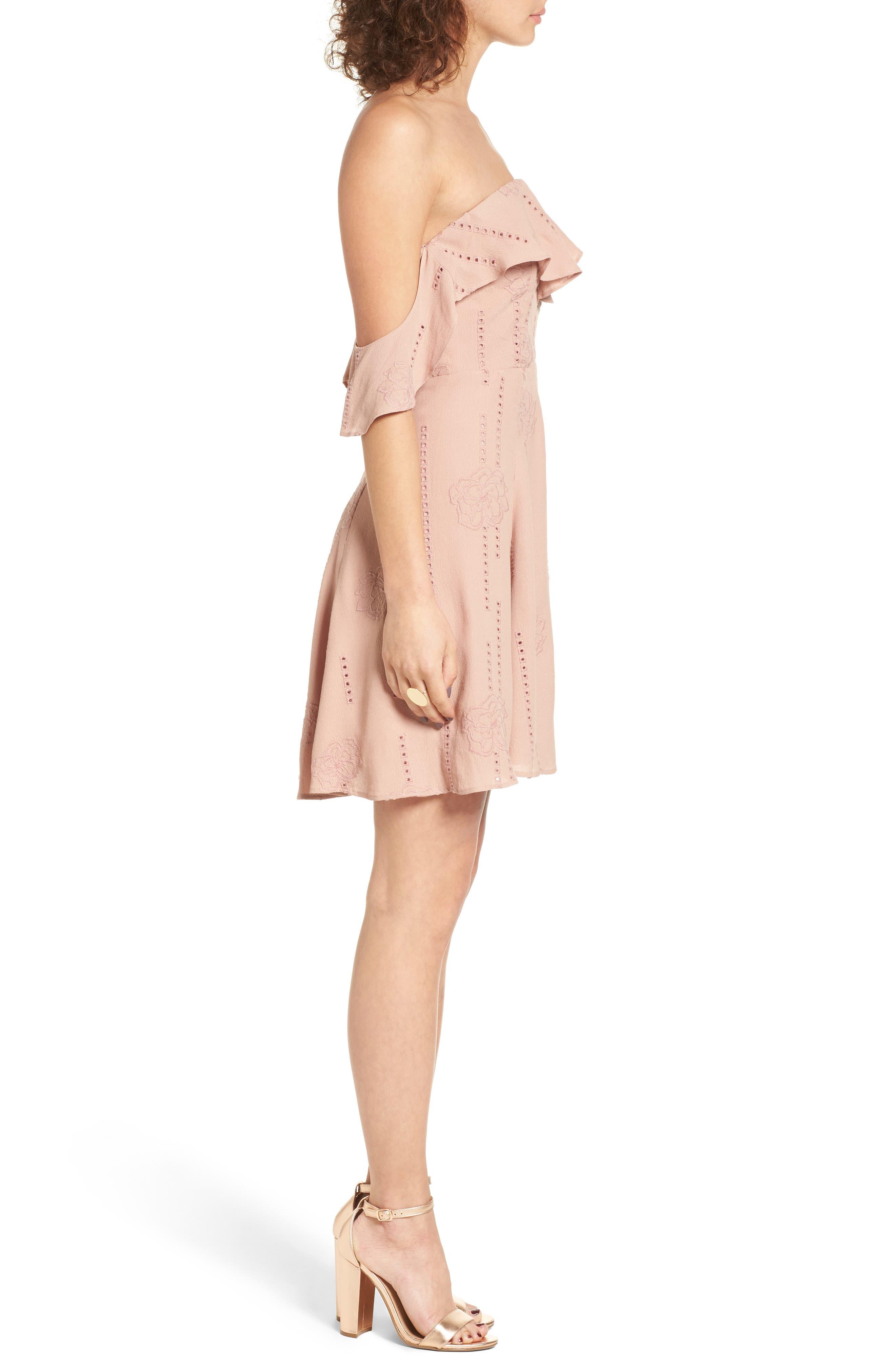 Alternate Image 4  - ASTR the Label Sabina A-Line Dress