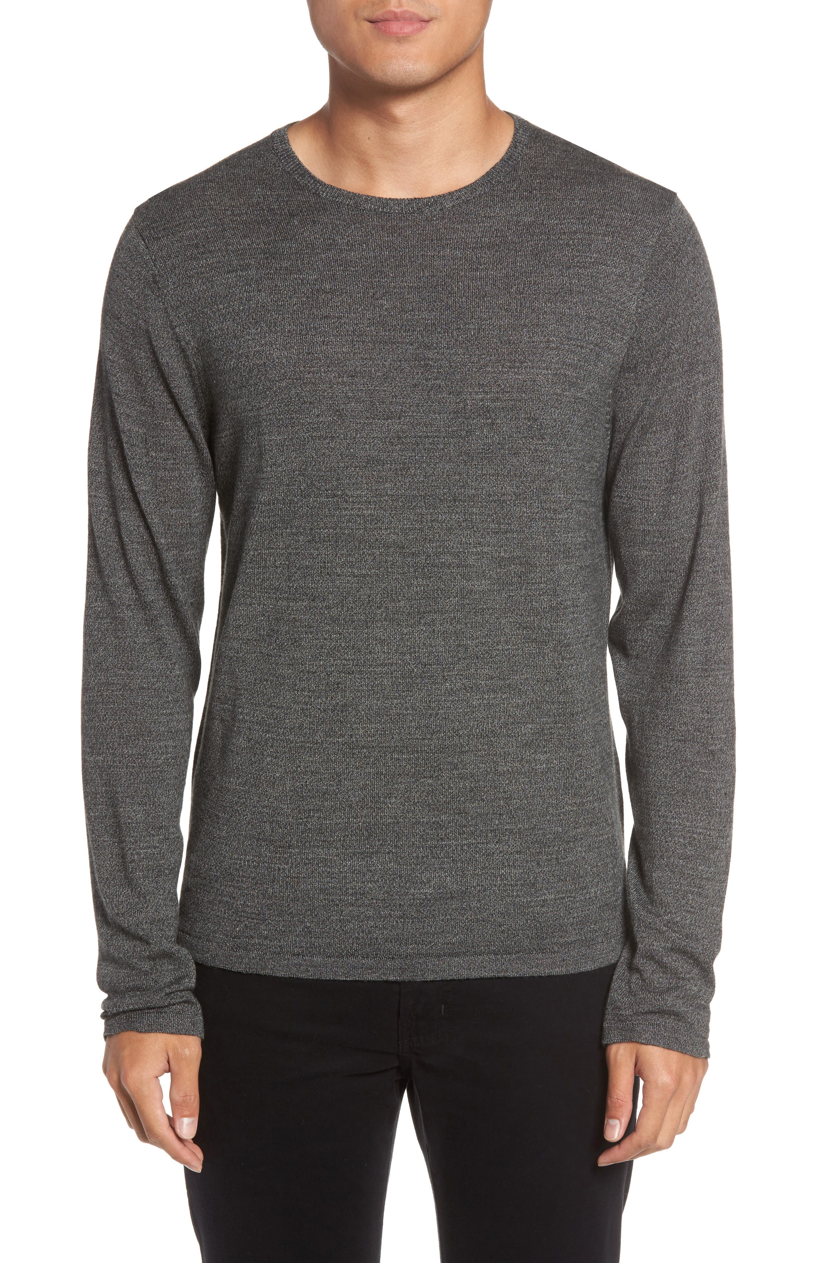 Calibrate Merino Blend Crewneck Sweater