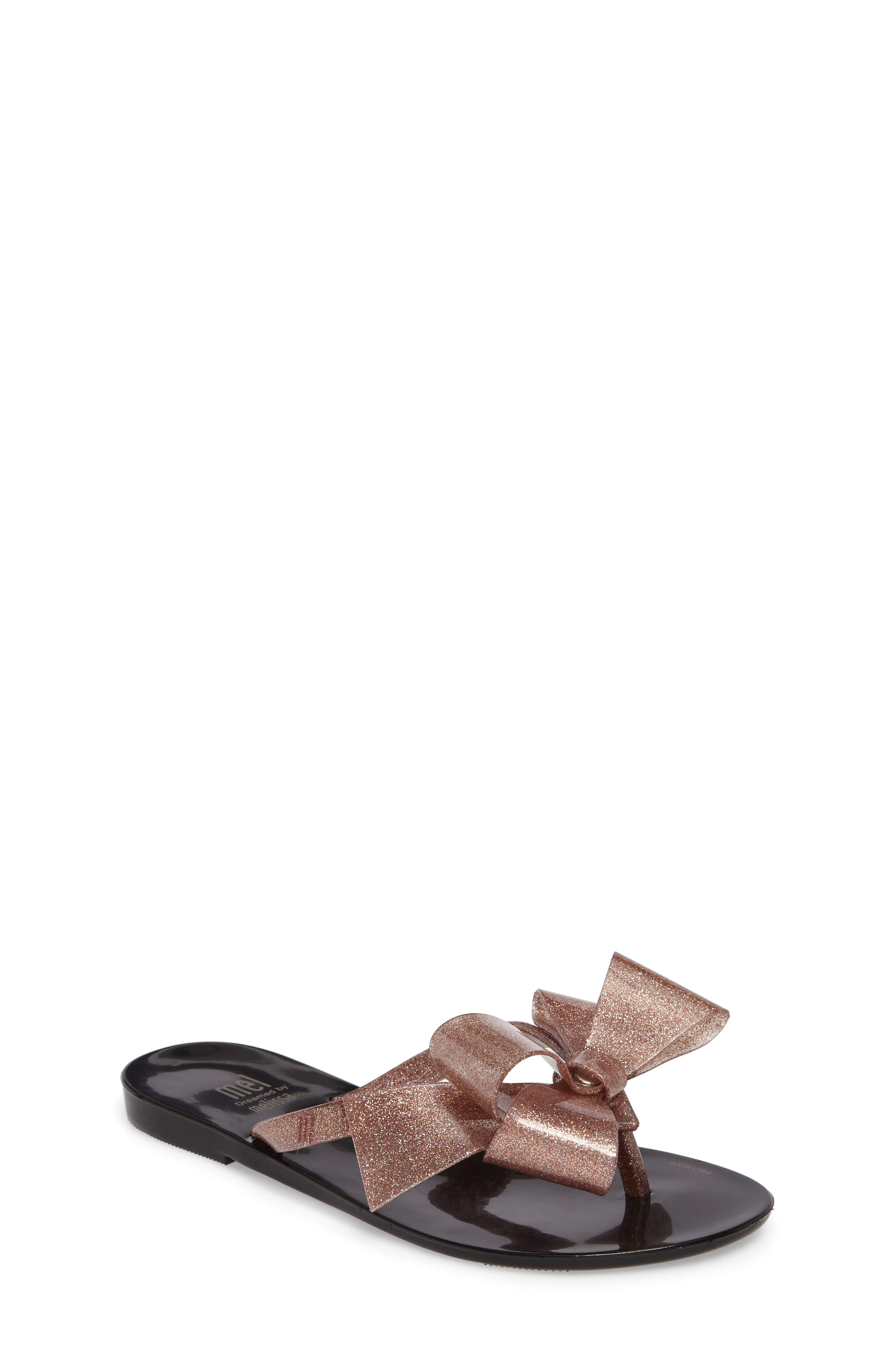 Mel by Melissa Harmonic Bow III Sandal (Toddler & Little Kid)