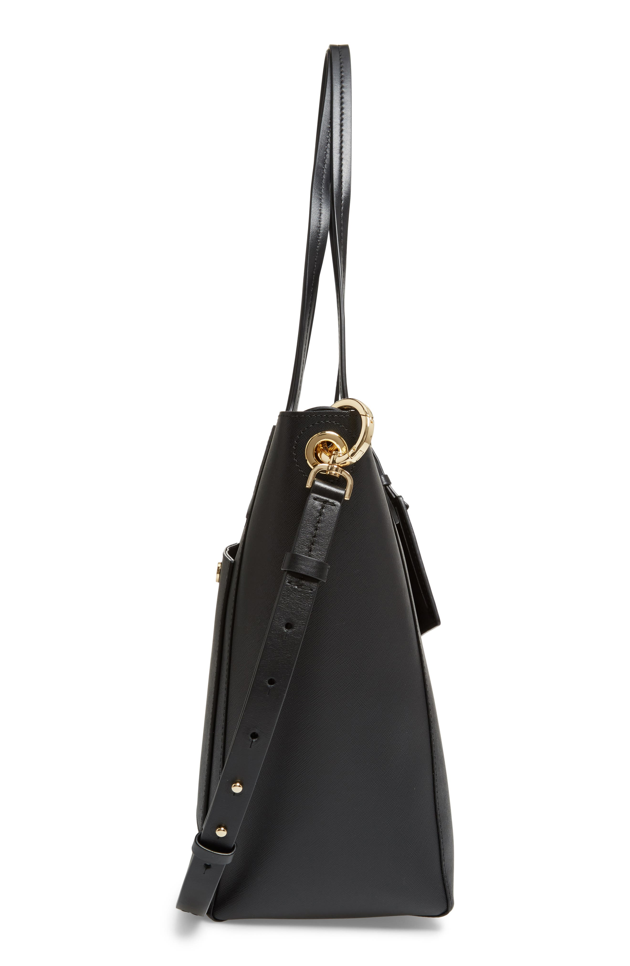 Alternate Image 5  - MICHAEL Michael Kors Penny Large Saffiano Convertible Leather Tote