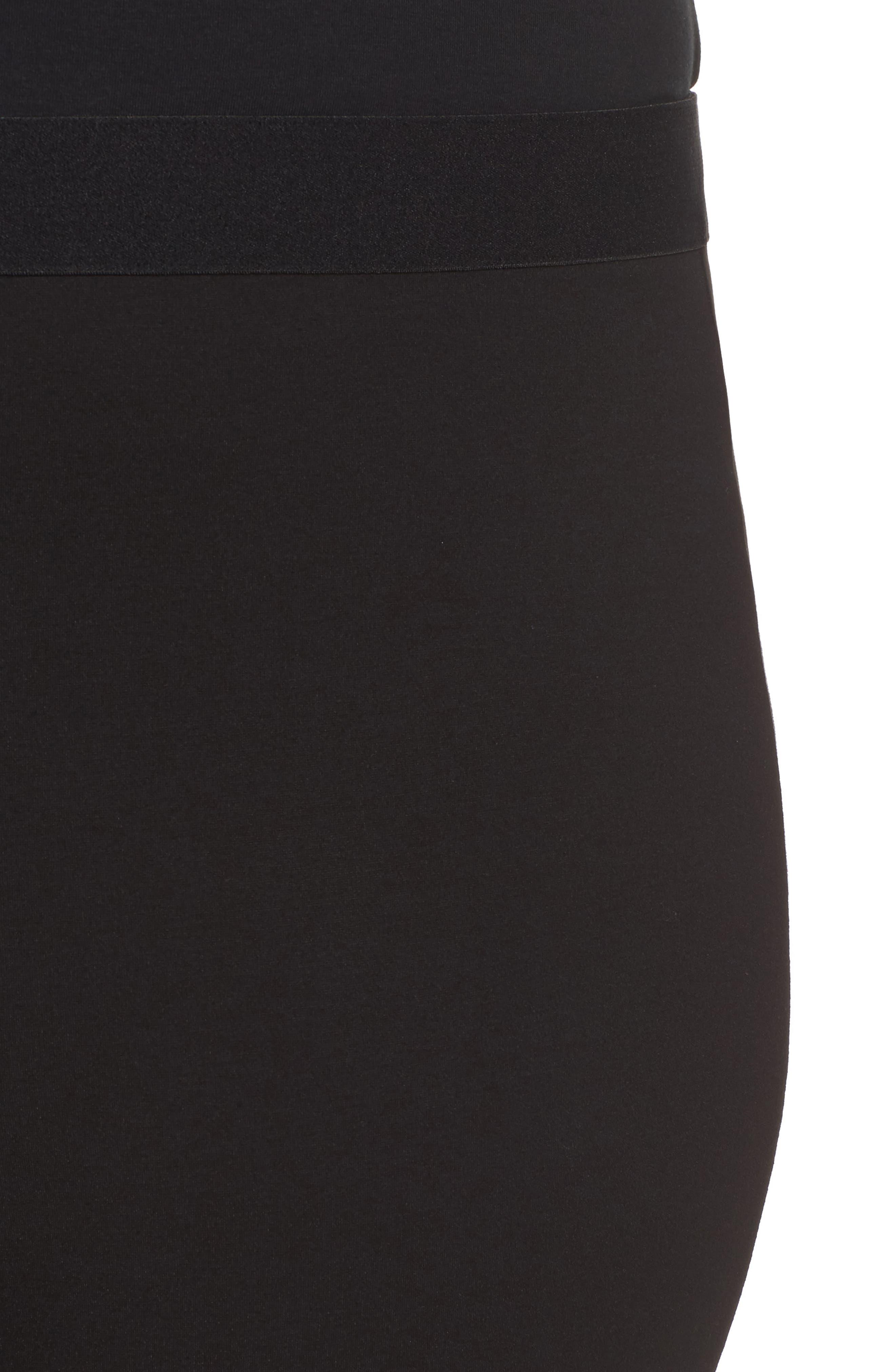 Alternate Image 4  - Foxcroft Naomi Ponte Jodphur Pants (Plus Size)